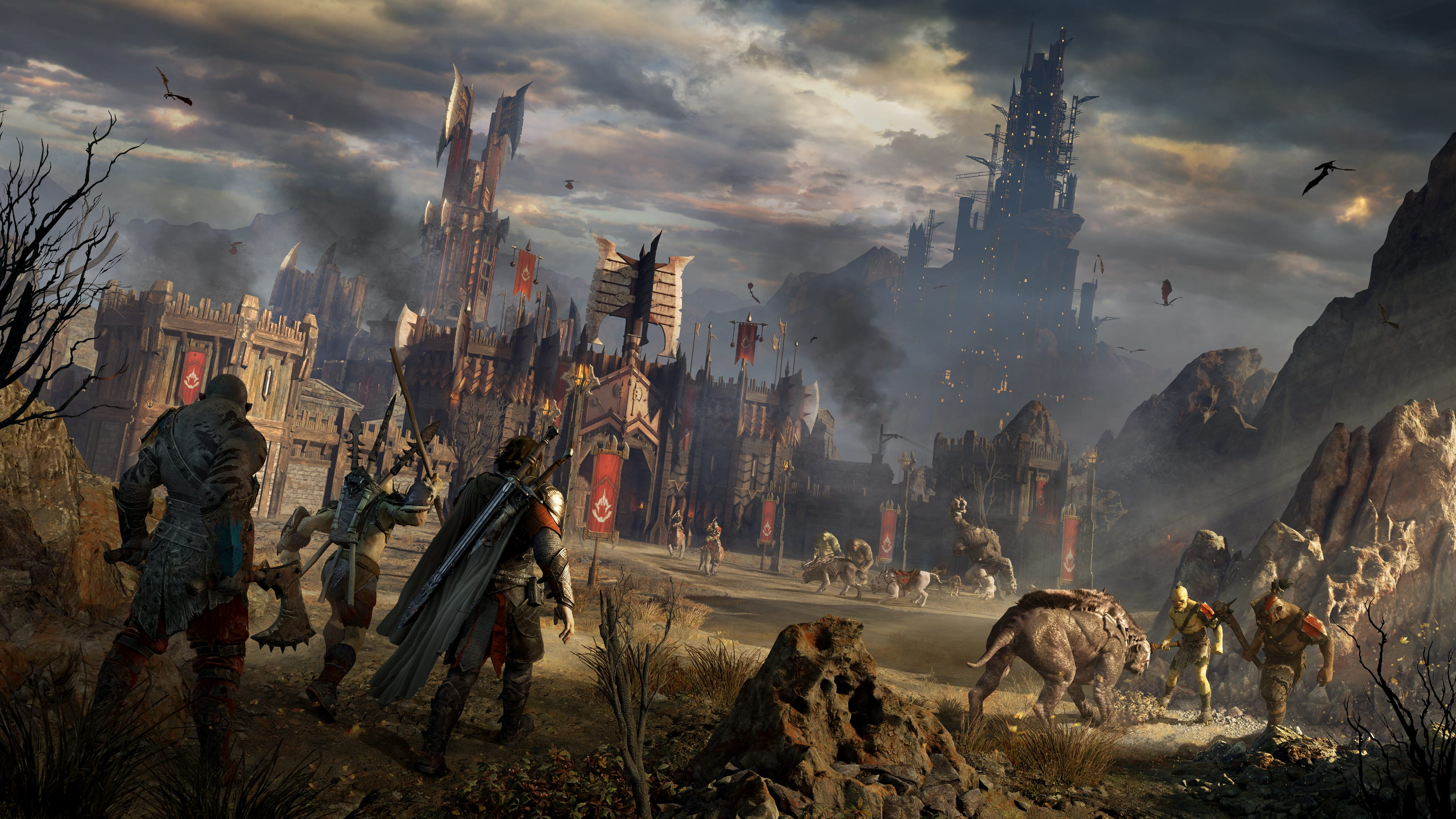Talion marching to war