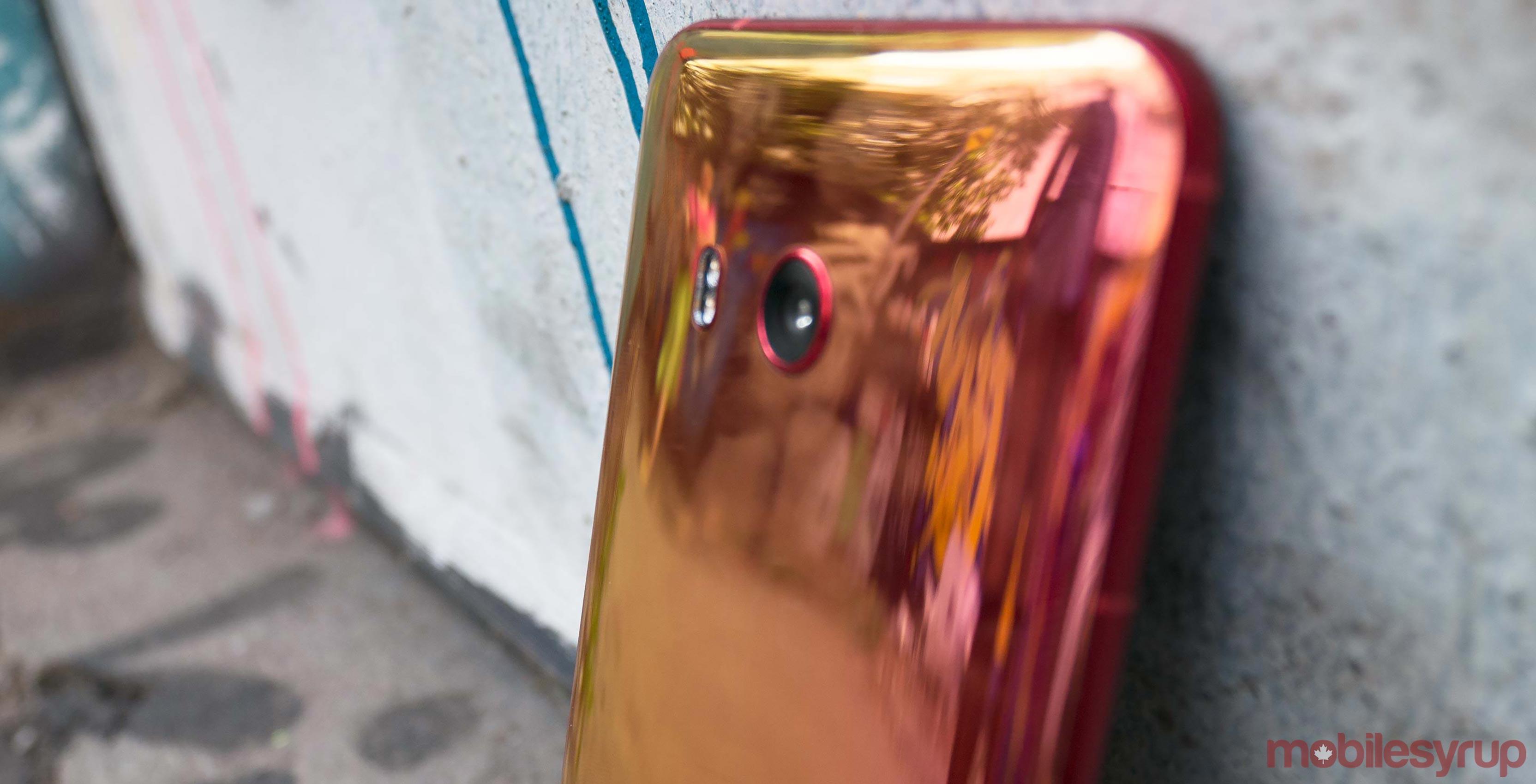 HTC U11 reflective