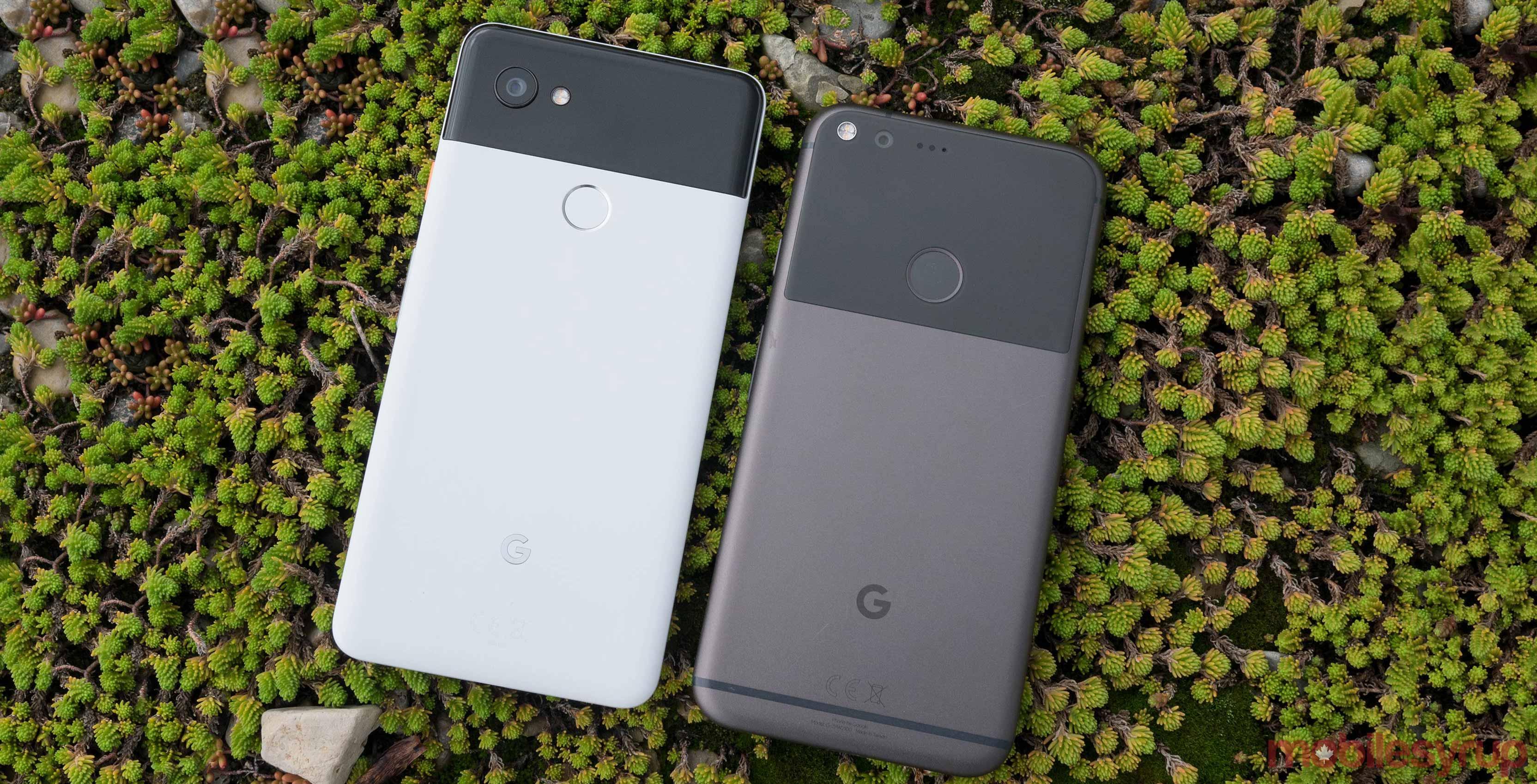 Pixel 2 XL and Pixel 2