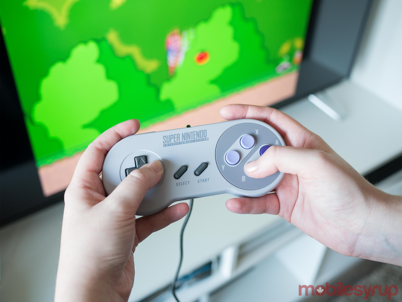 SNES Classic Gamepad