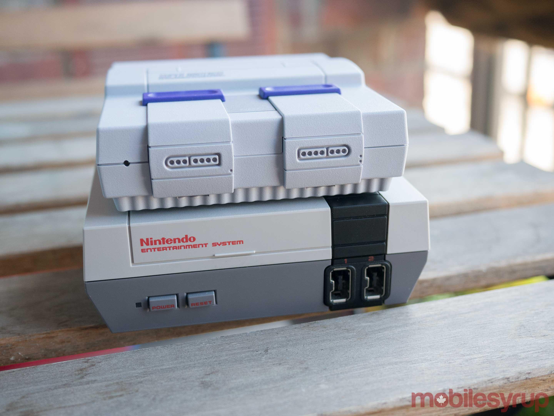 SNES Classic and NES Classic