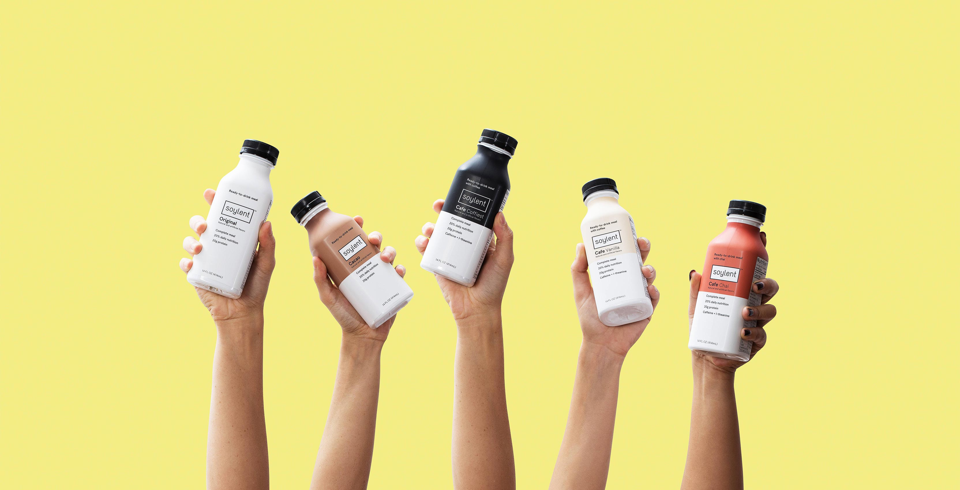soylent in hands
