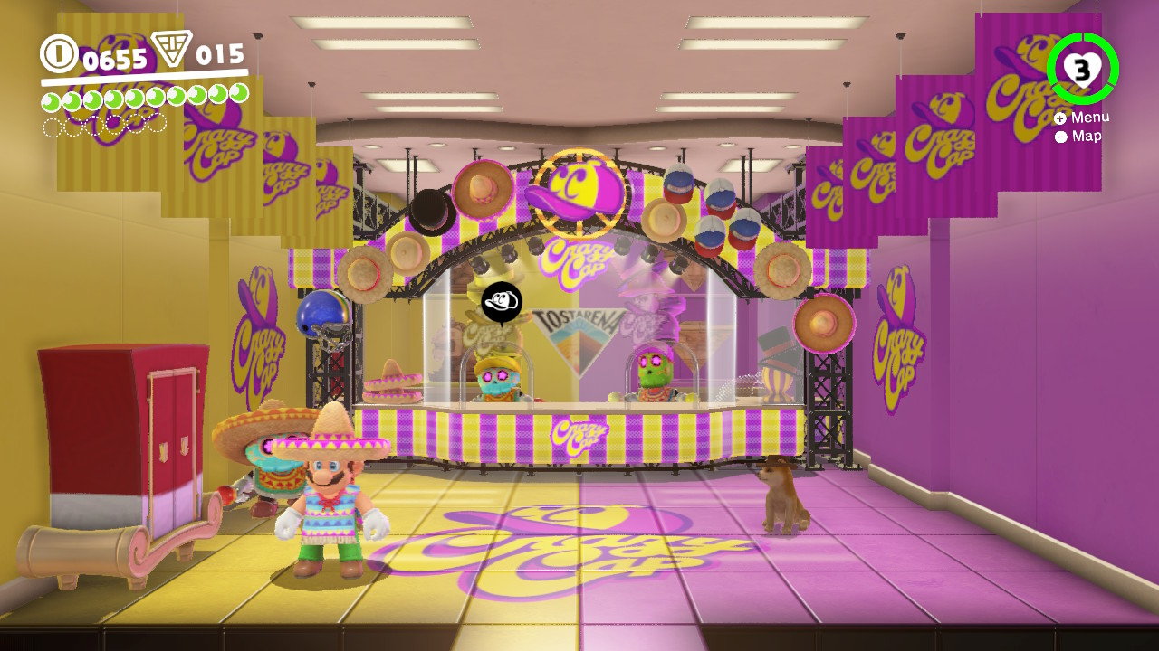 Super Mario Odyssey screenshot
