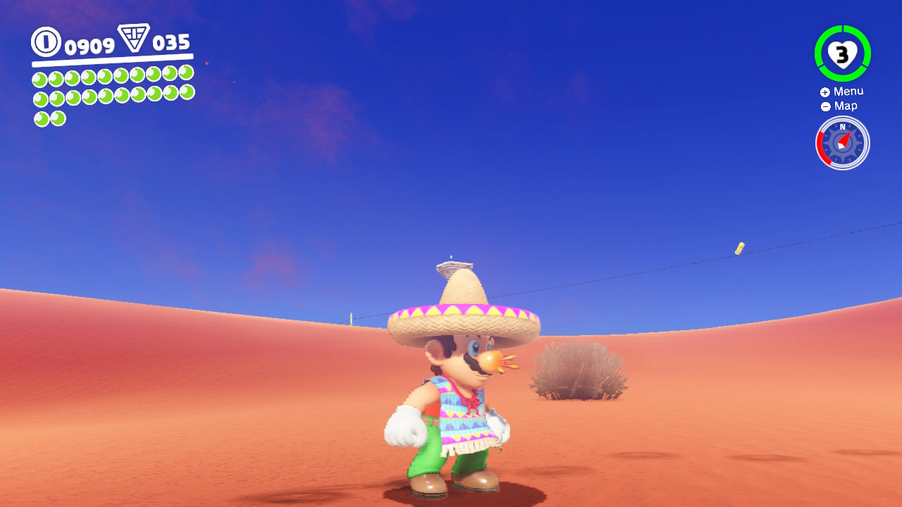 Super Mario Odyssey sombrero
