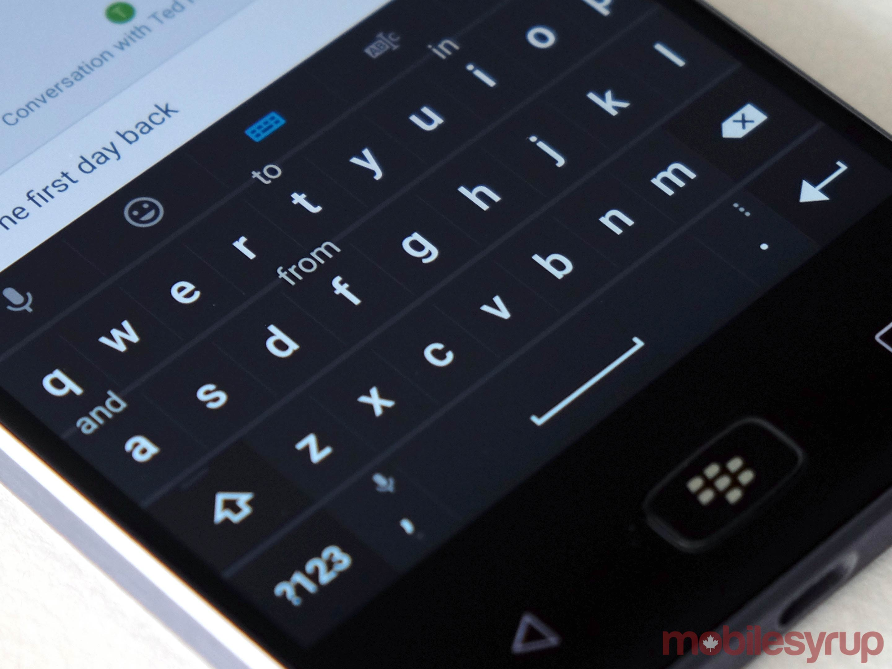 BB Motion keyboard