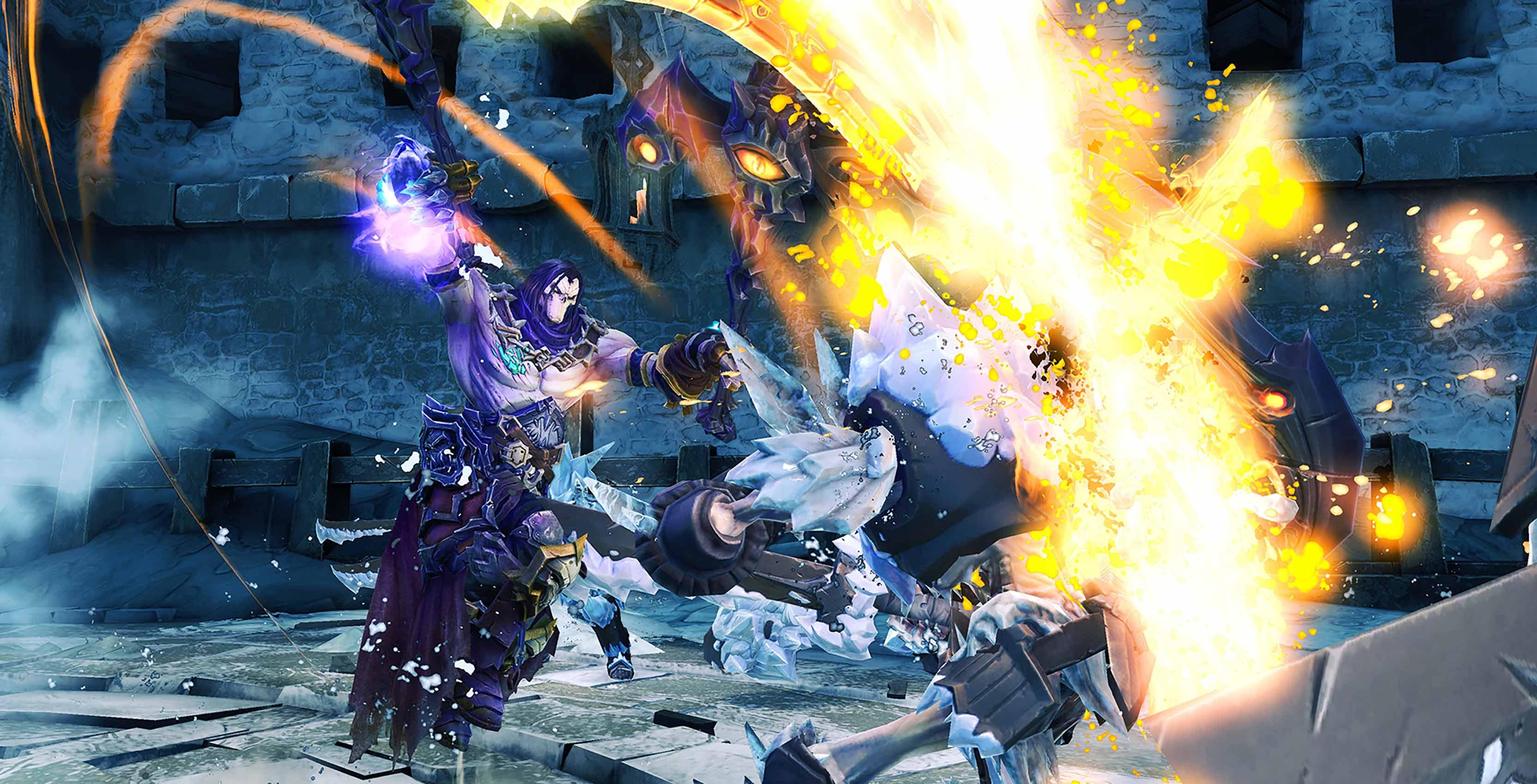 Darksiders II Deathinitive Edition combat
