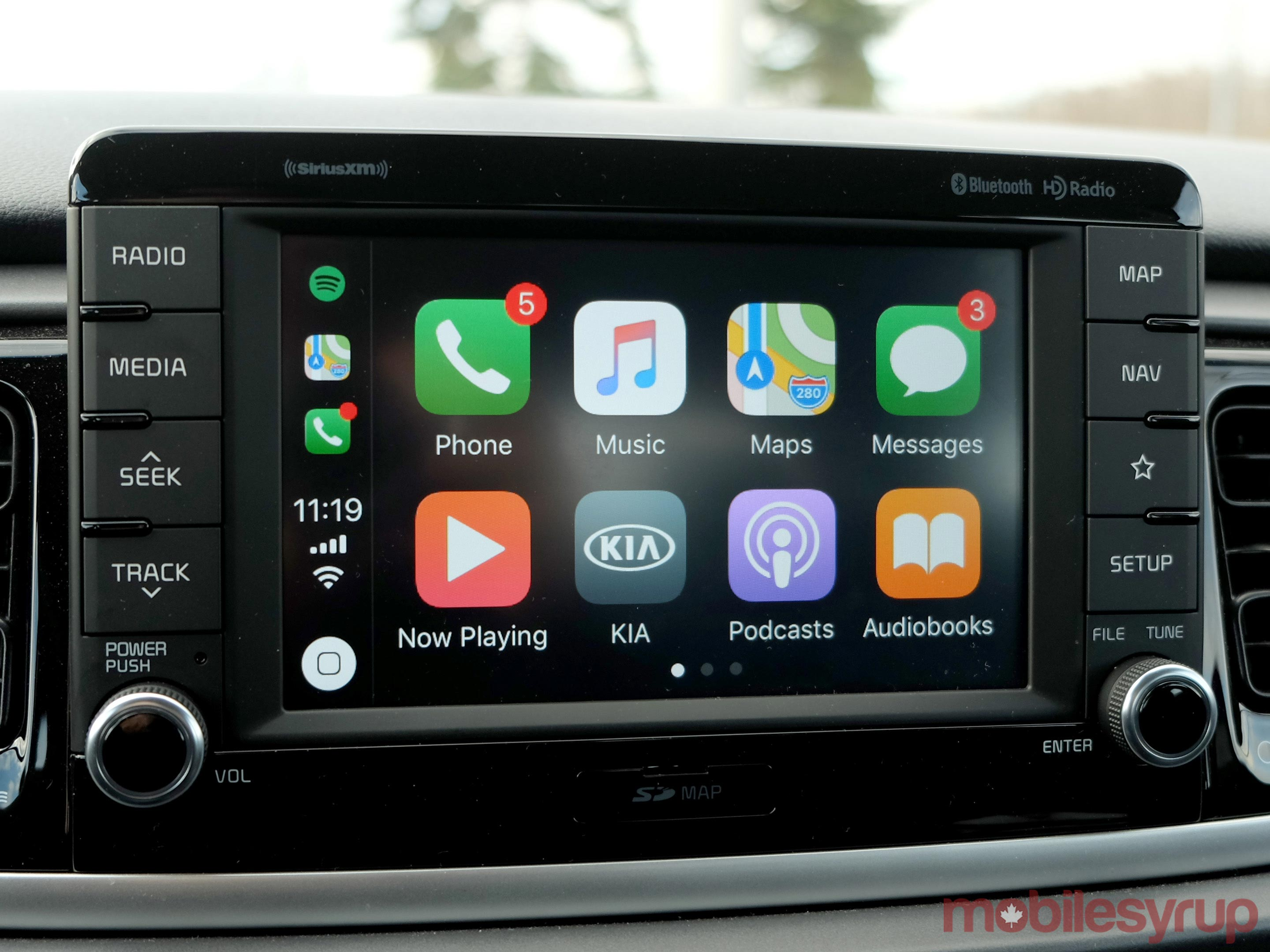 Kia Rio CarPlay