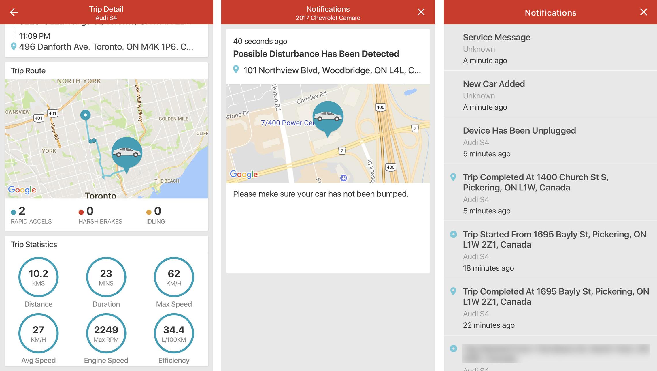 Rogers Smart Drive screenshots