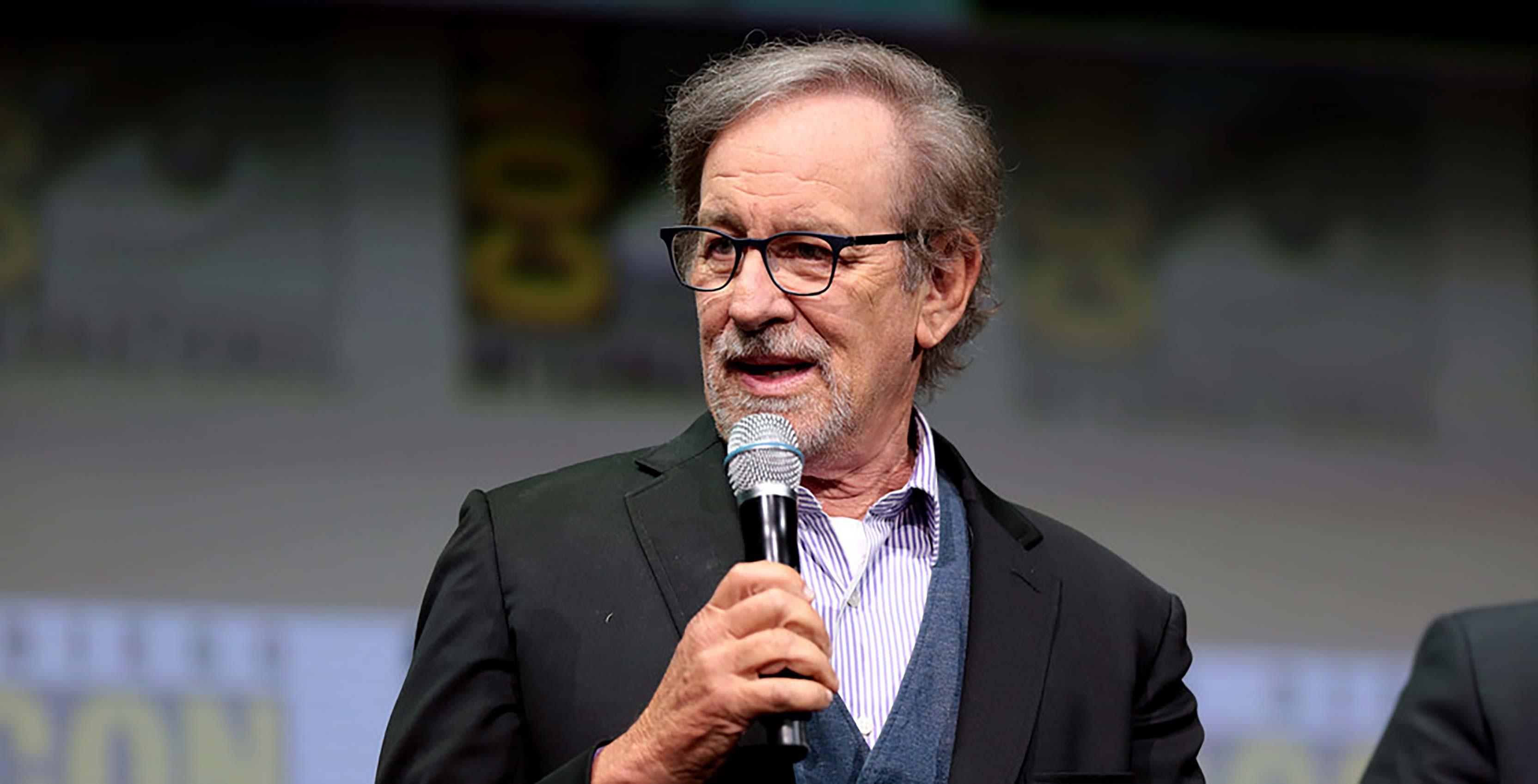 Steven Spielberg at San Diego Comic Con