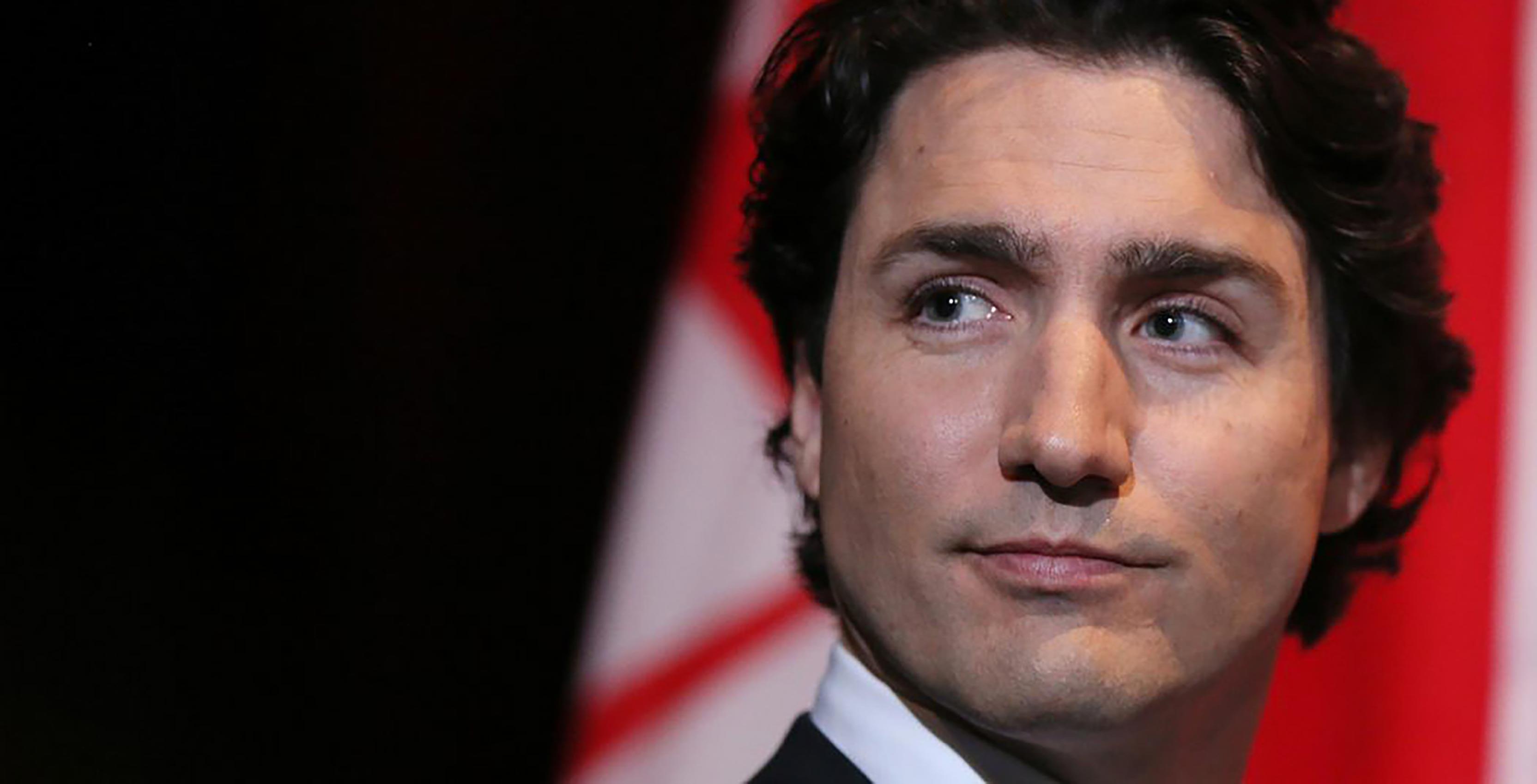 Justin Trudeau head