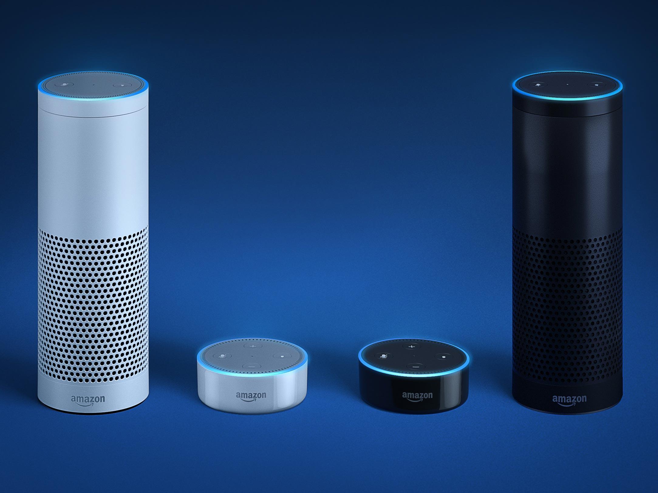 Amazon Echo Plus and Echo Dot