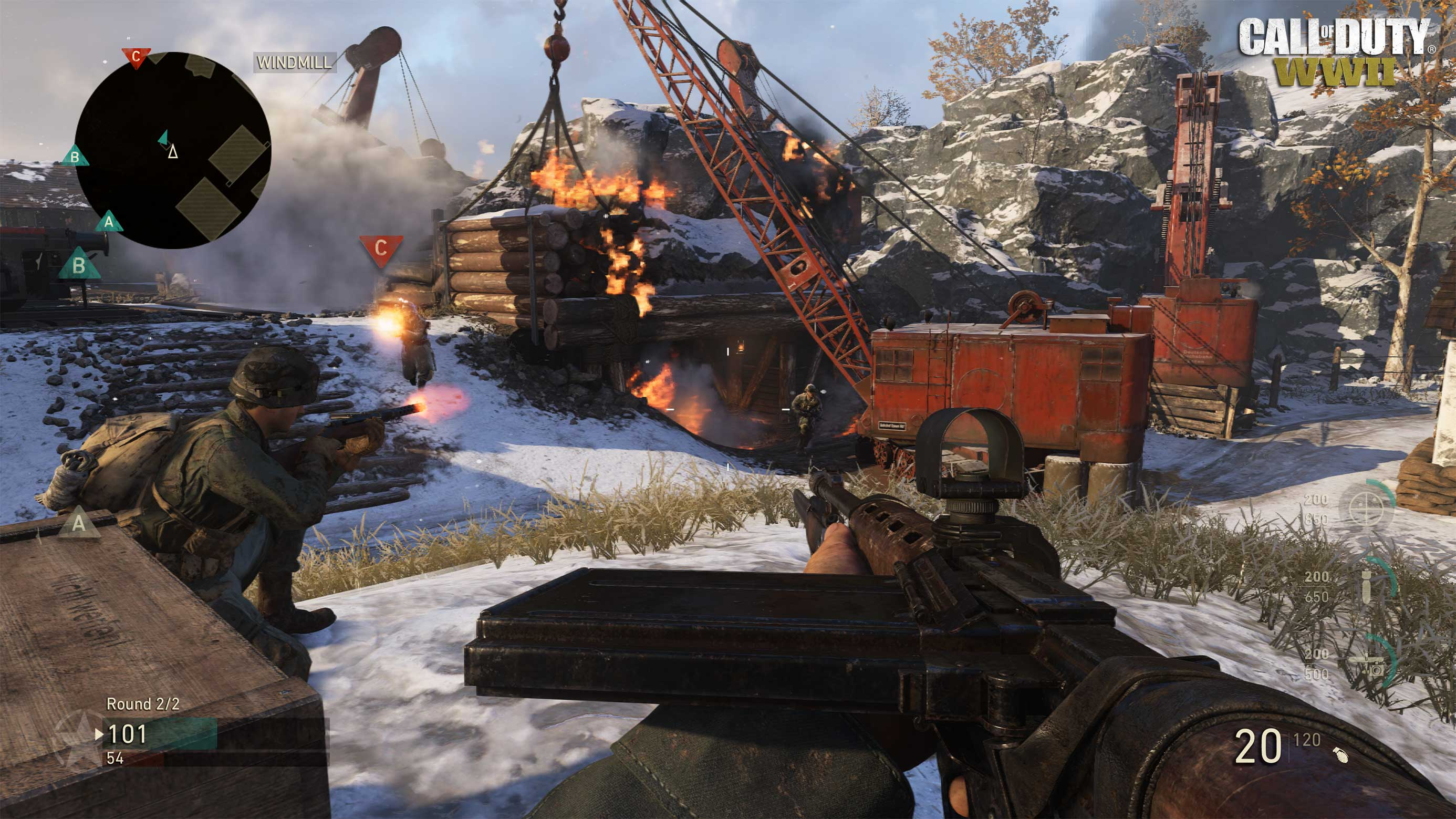 Call of Duty World War II screenshot
