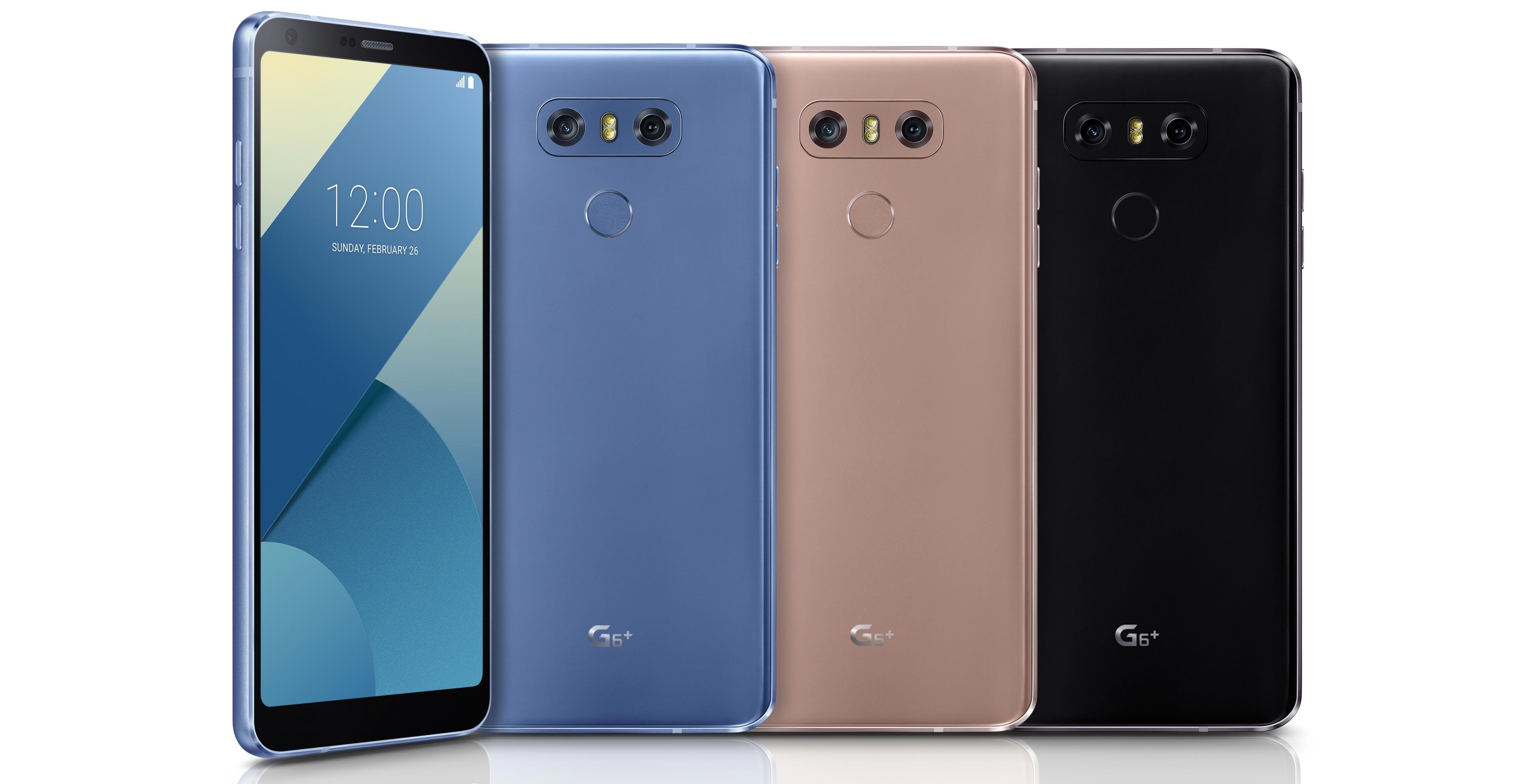 LG G6 Plus models