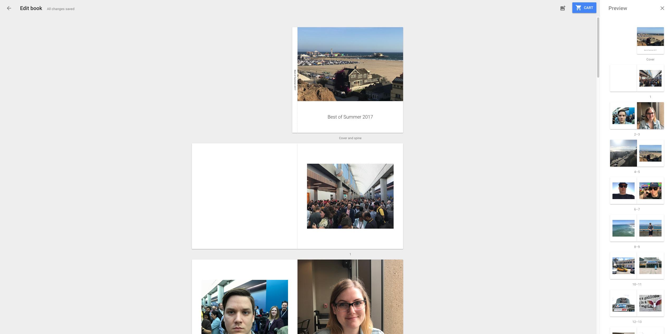 Google Photo Books
