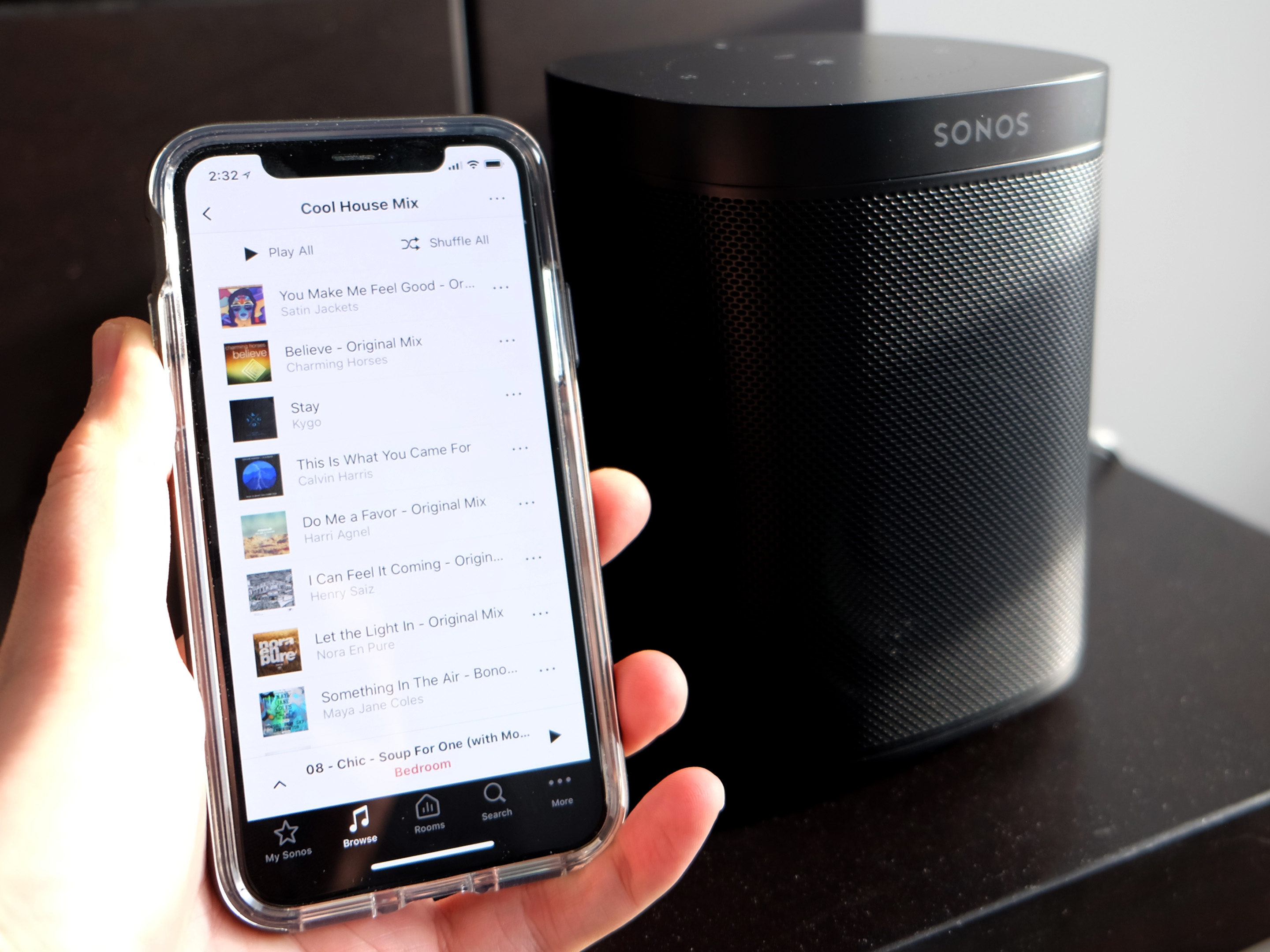 Sonos One with app