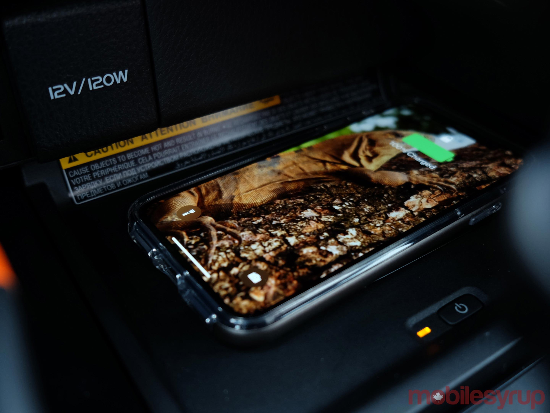 Toyota texting screen