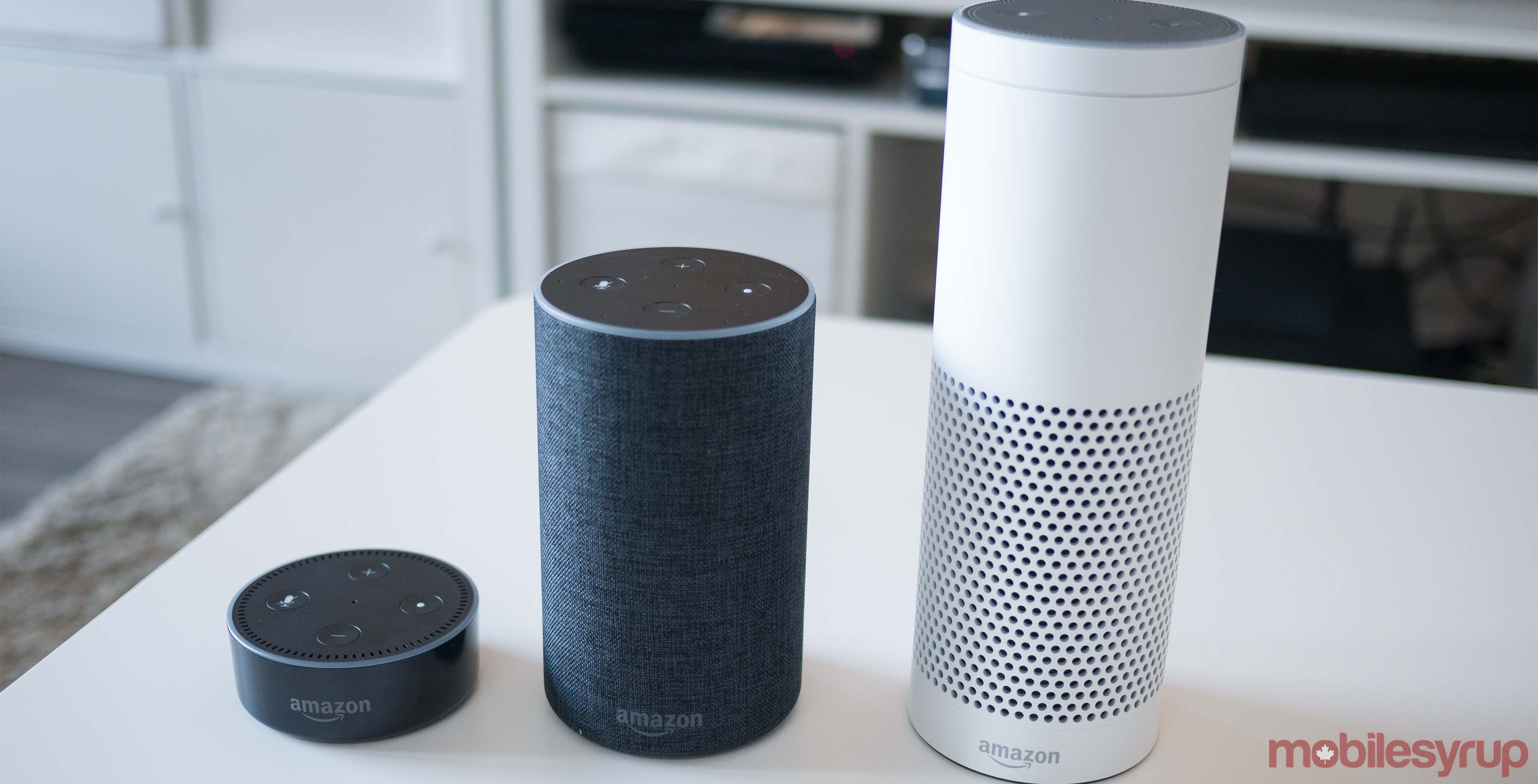 Amazon Echo Canadian devices