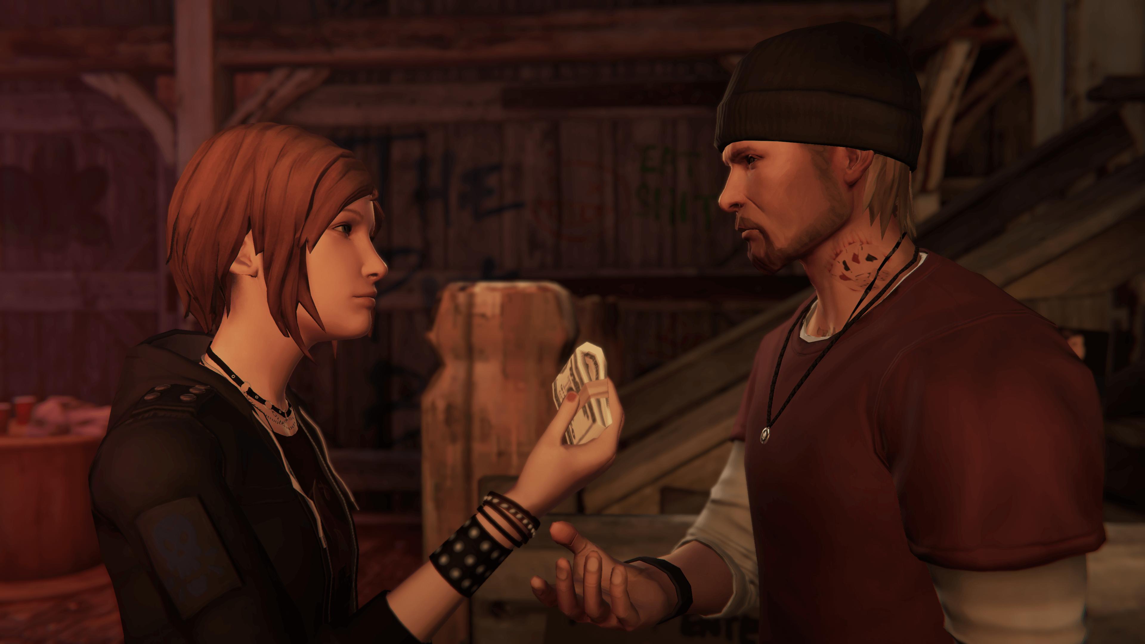 Chloe and Frank money