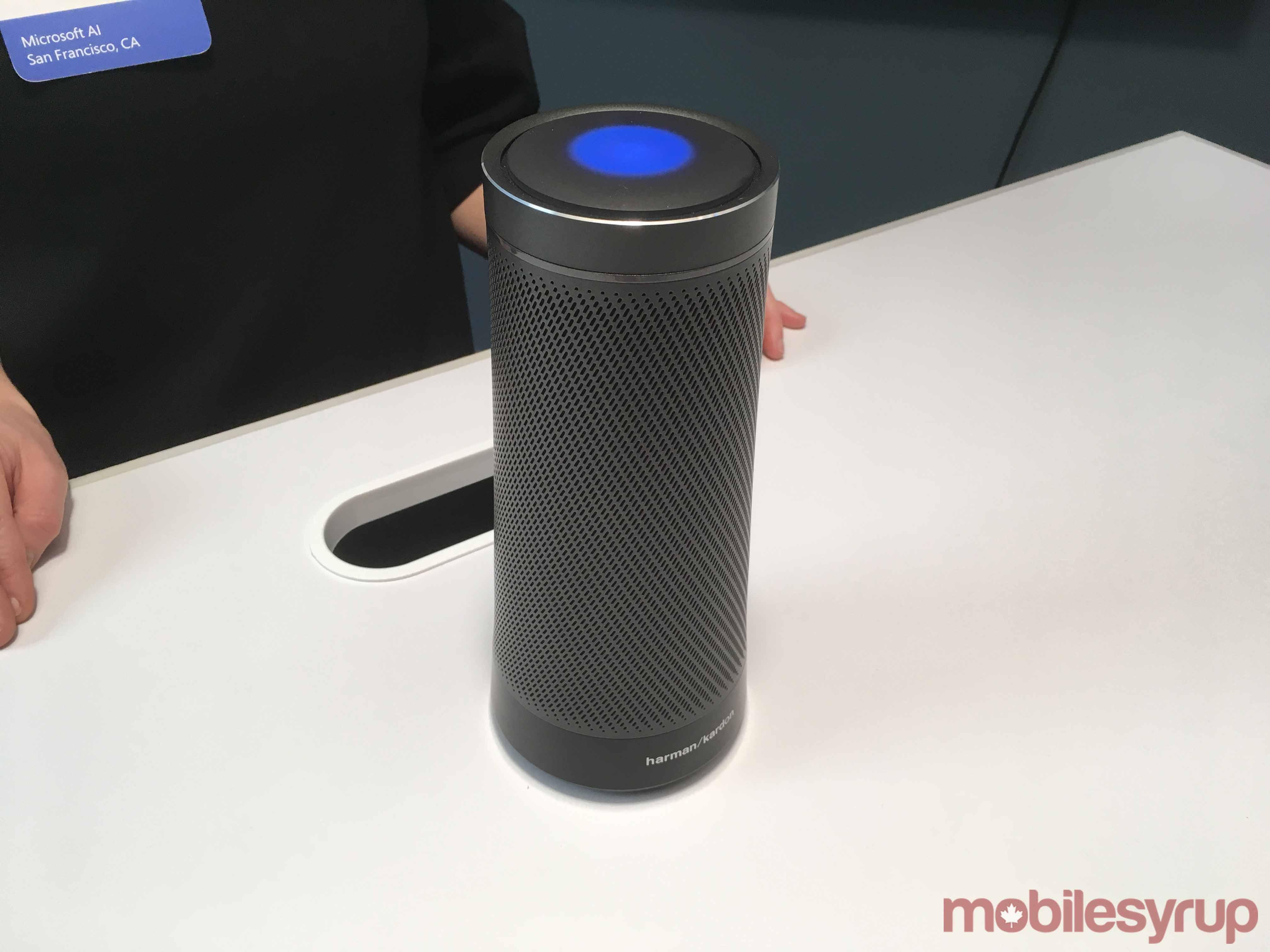 Harman Kardon speaker Cortana