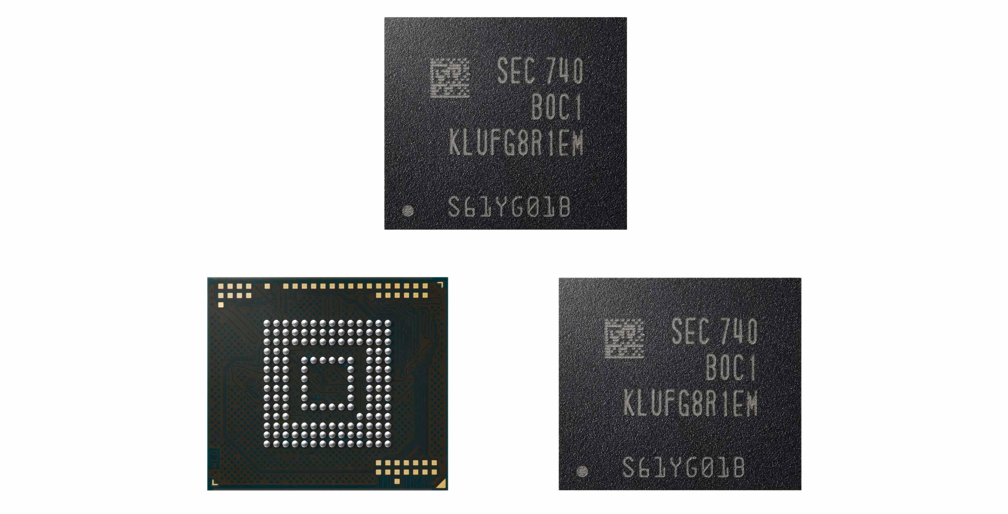 Samsung's new 512GB eUFS NAND chip