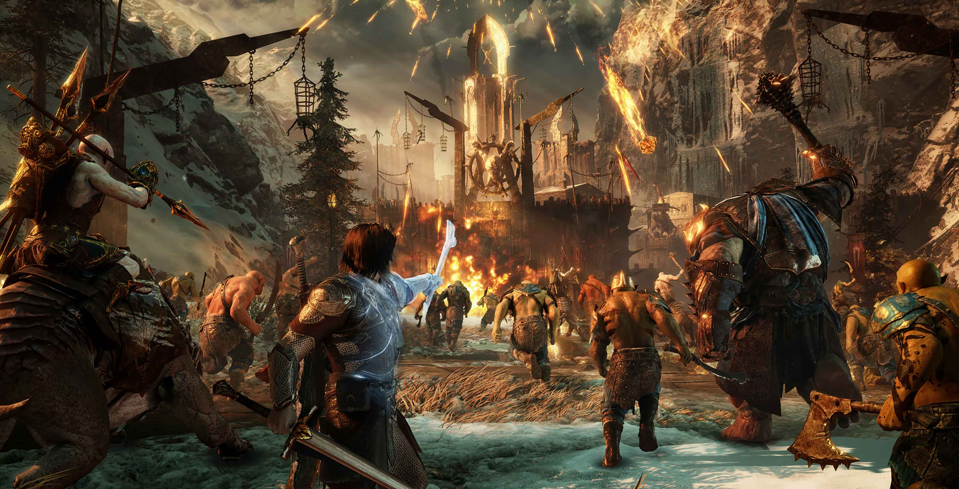 Middle-earth: Shadow of War fortress assault