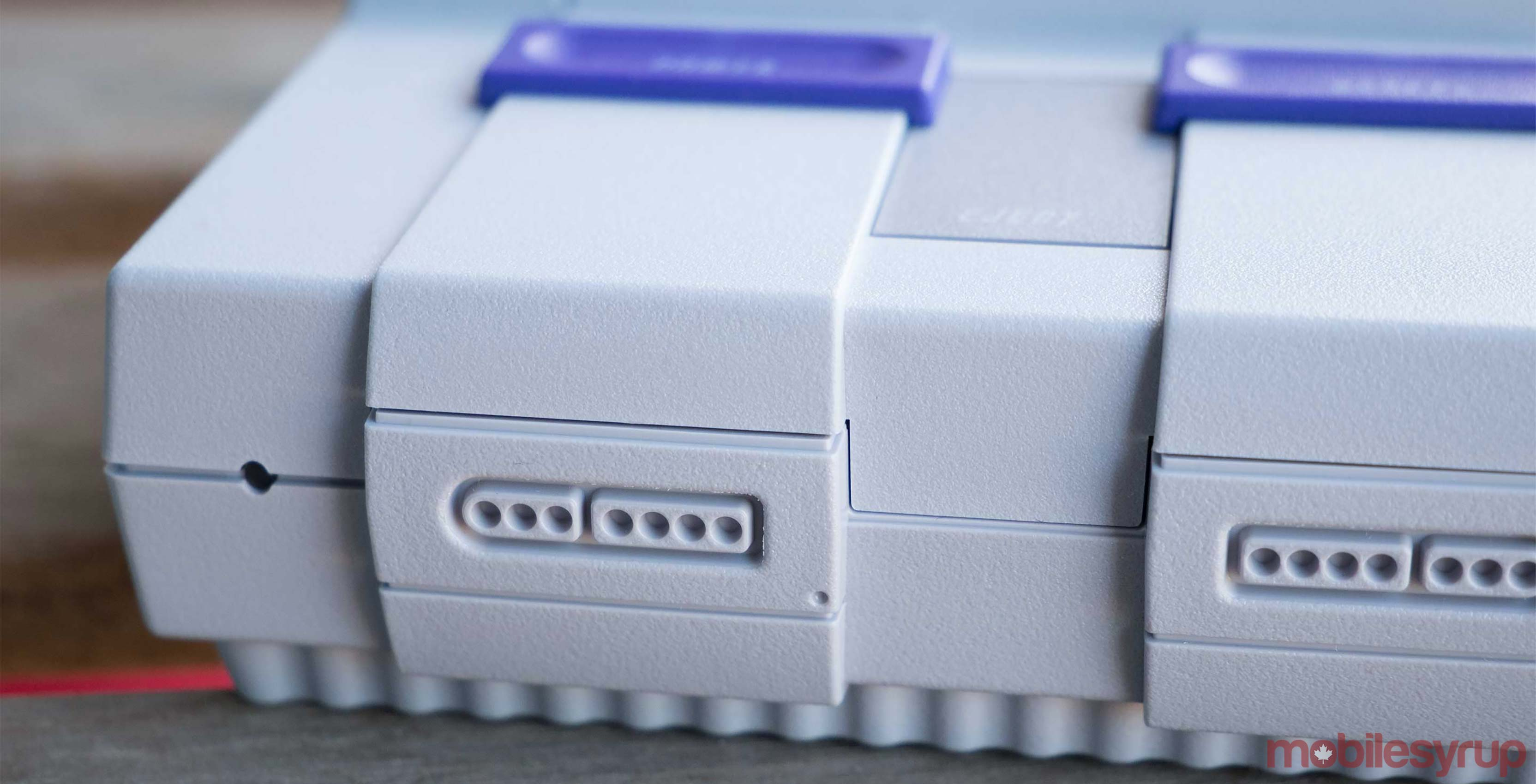 SNES Classic front close-up