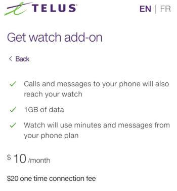 Telus Apple Watch