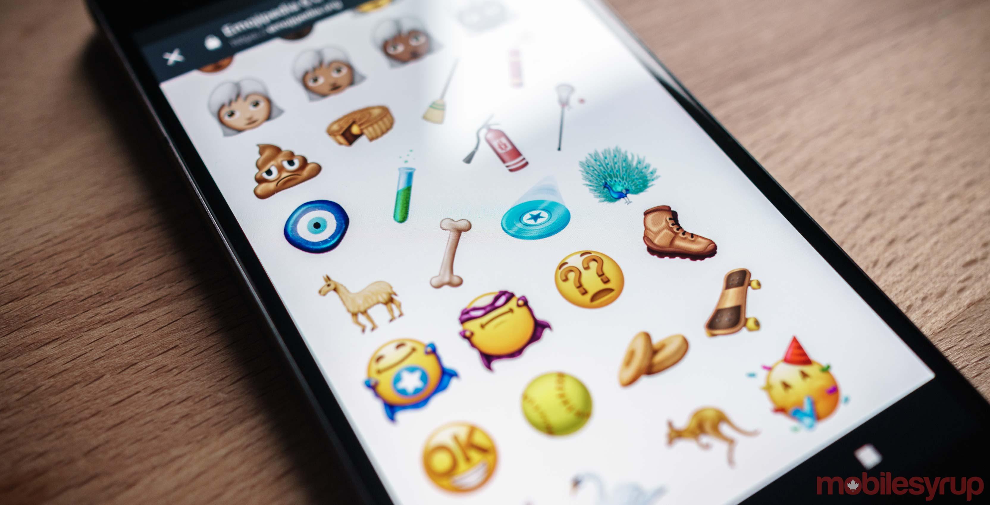 Unicode 11 Emoji