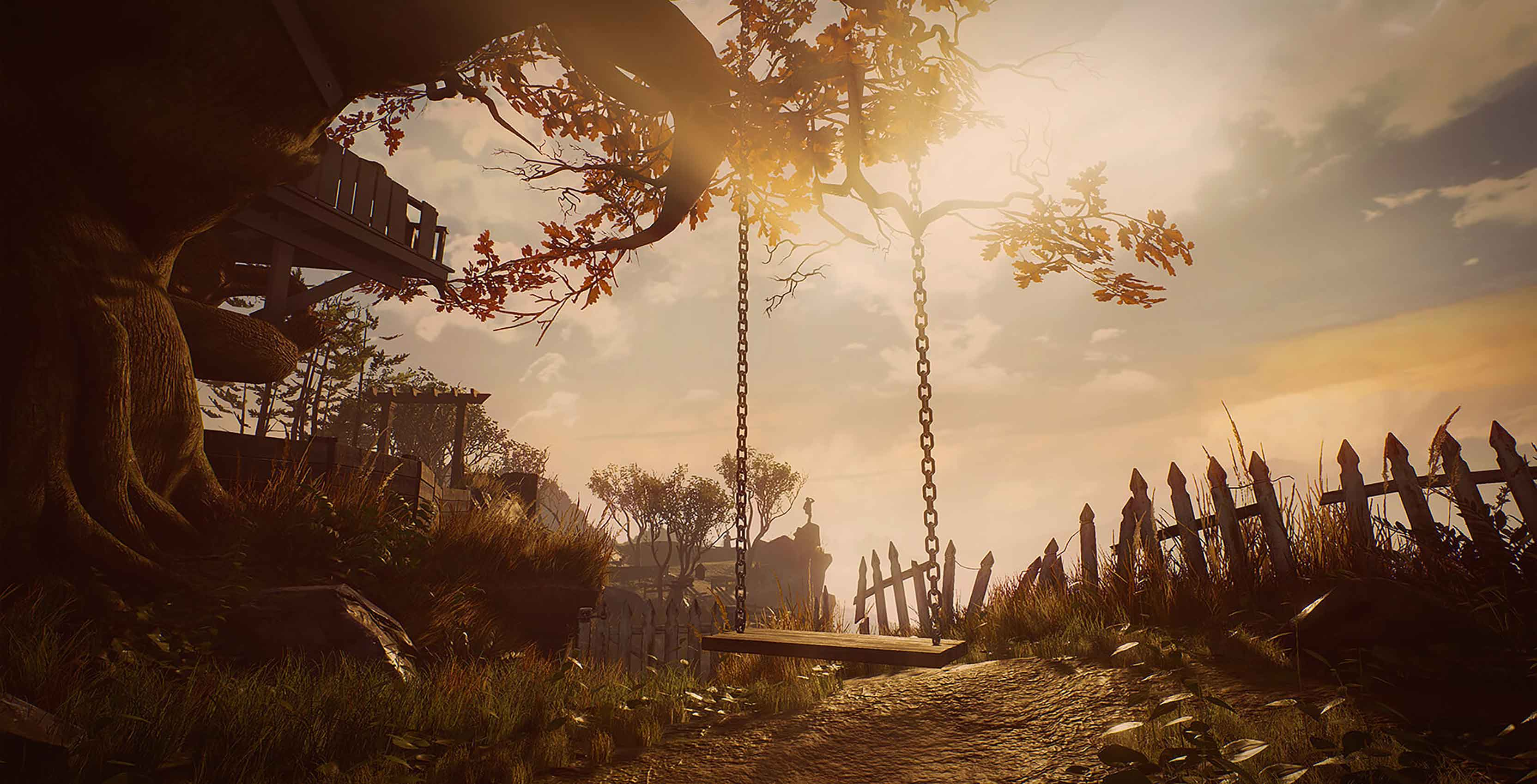 What Remains of Edith Finch swing set