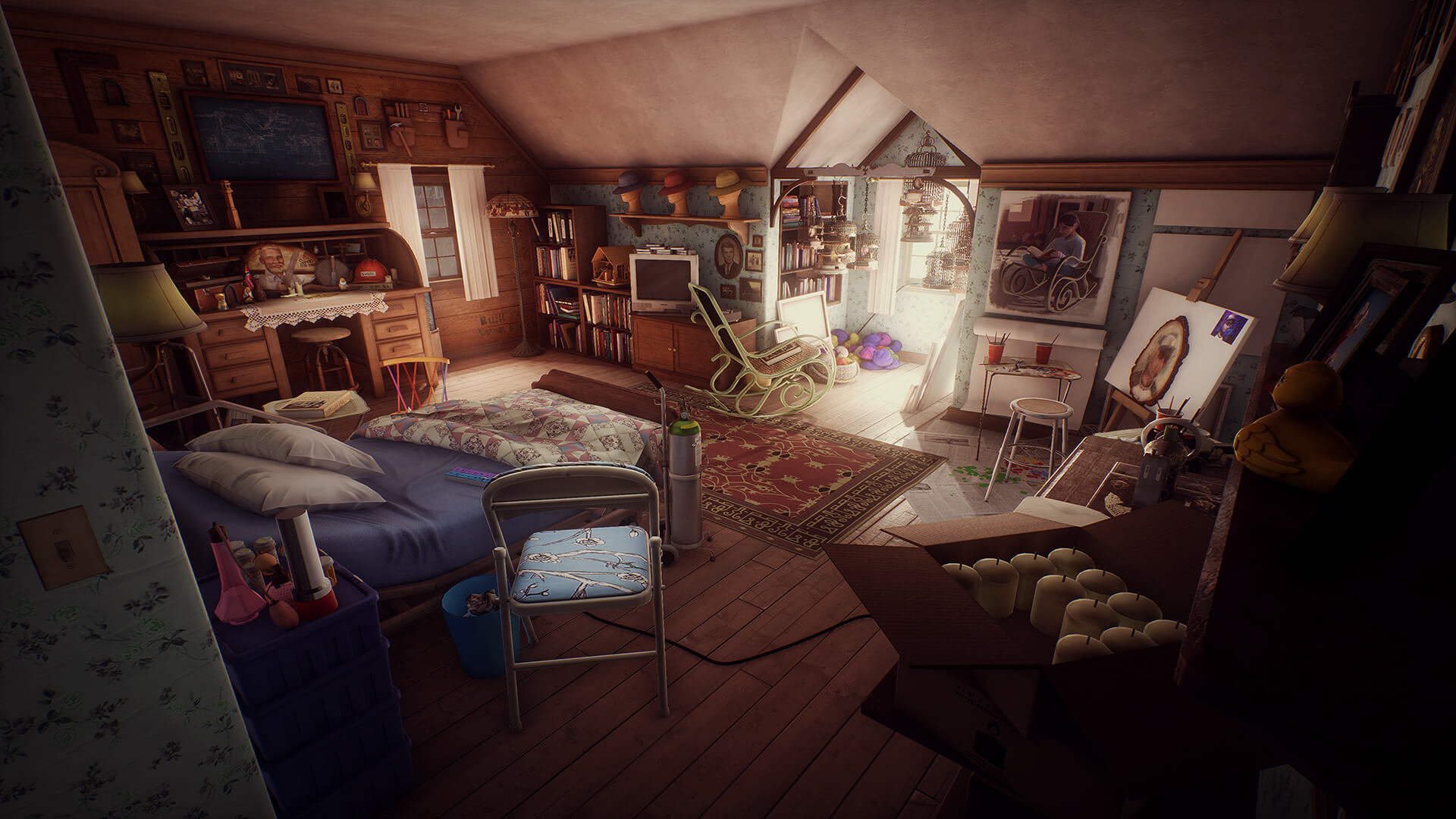 What Remains of Edith Finch bedroom