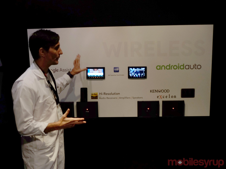 Kenwood Android Auto wireless