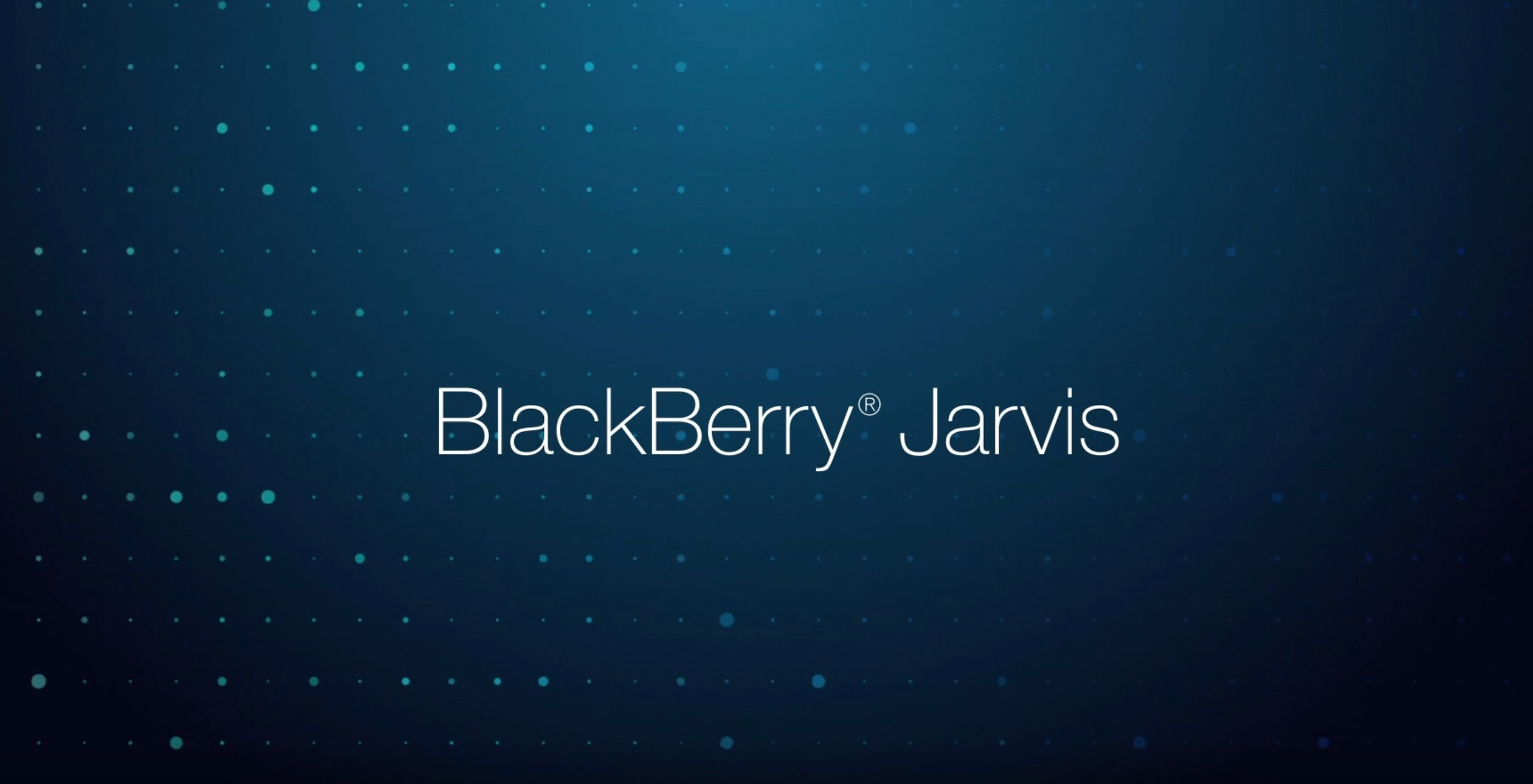 Jarvis is BlackBerry's new automotive security software