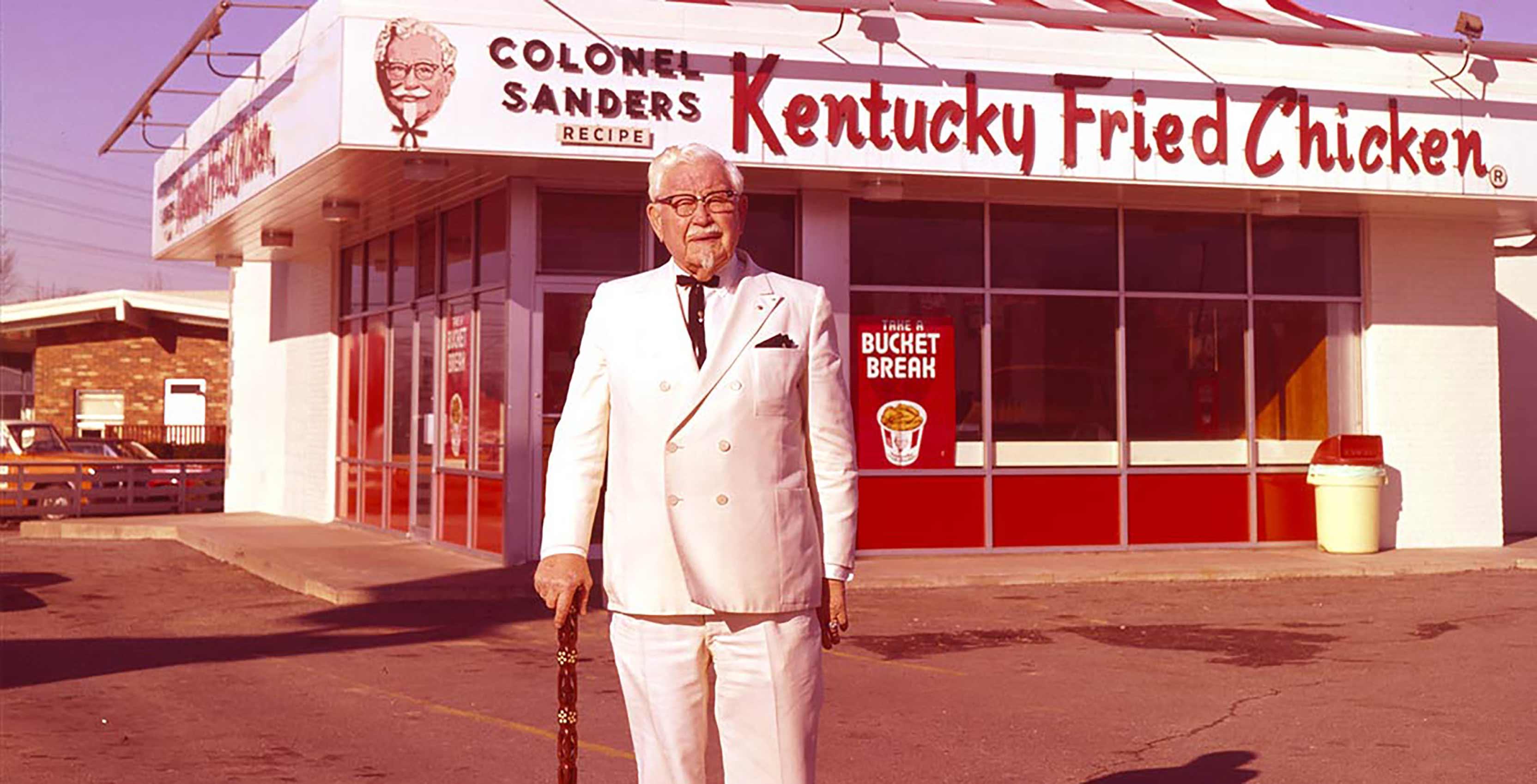 Colonel Sanders at KFC
