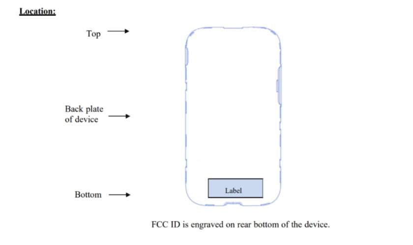 The Galaxy S9's FCC diagram