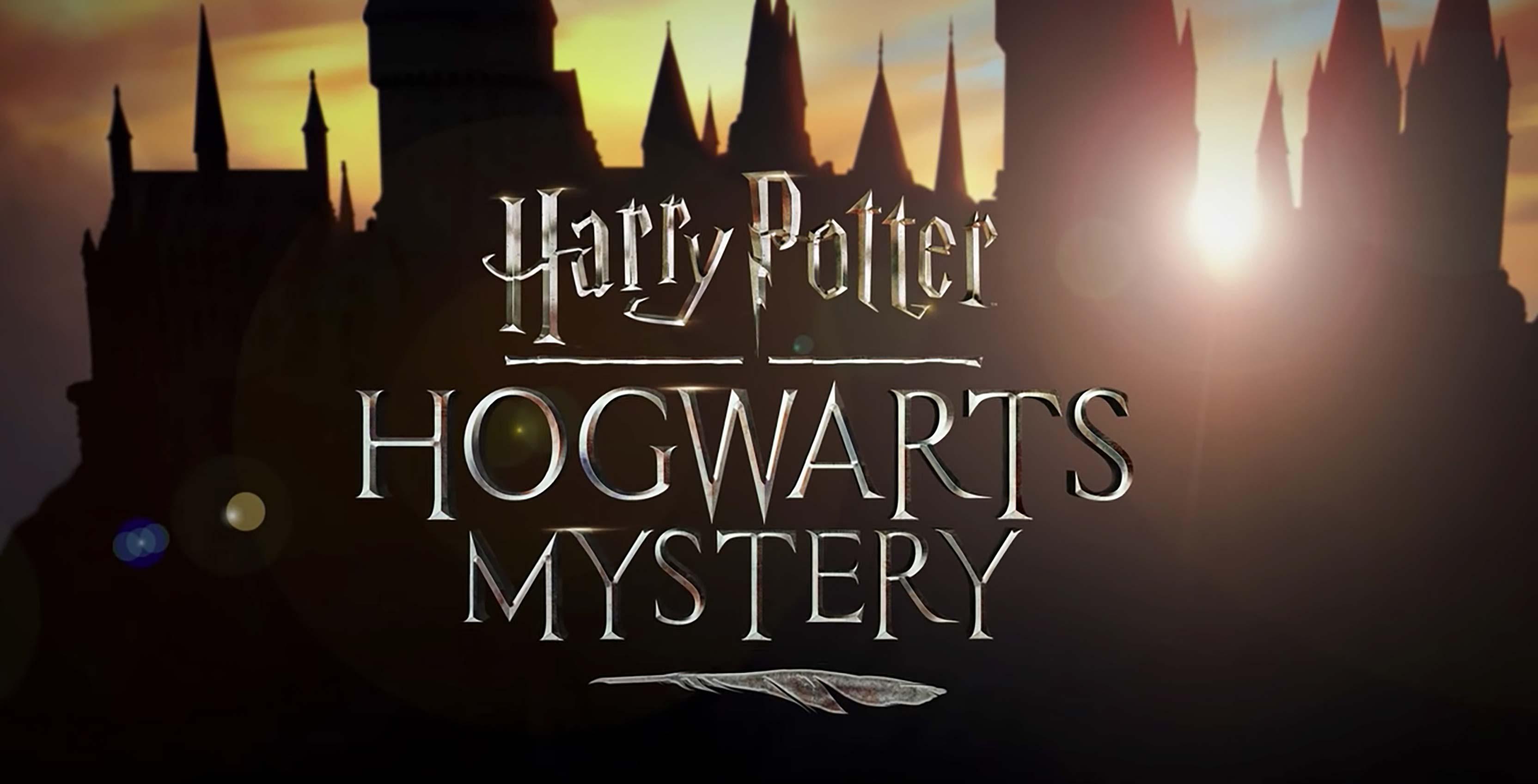 Harry Potter Hogwarts Mystery logo