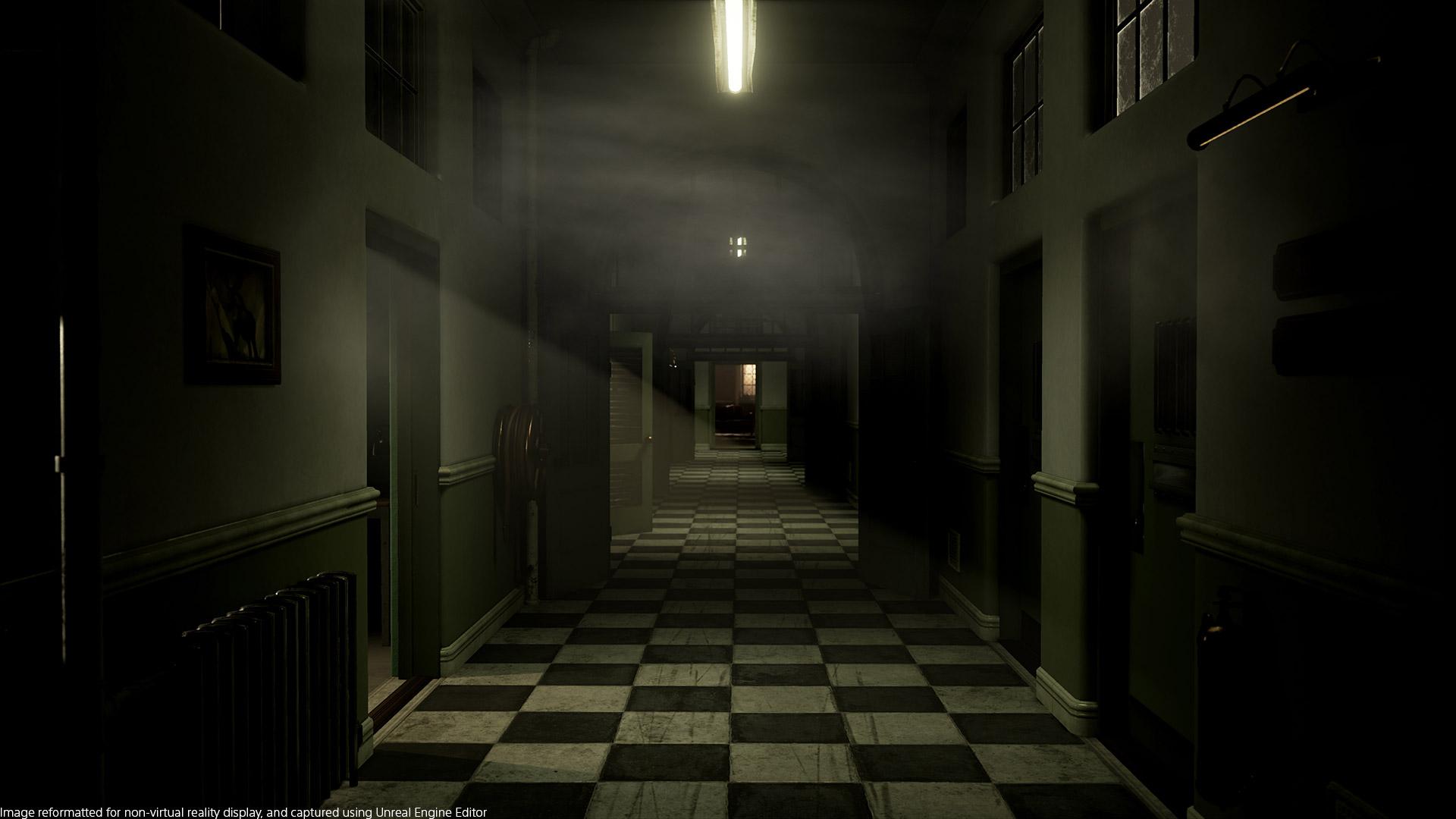 The Inpatient hallway