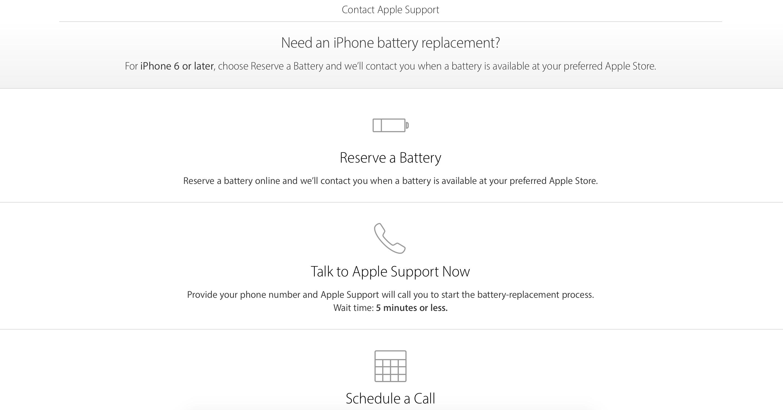 iPhone battery replacement procedure