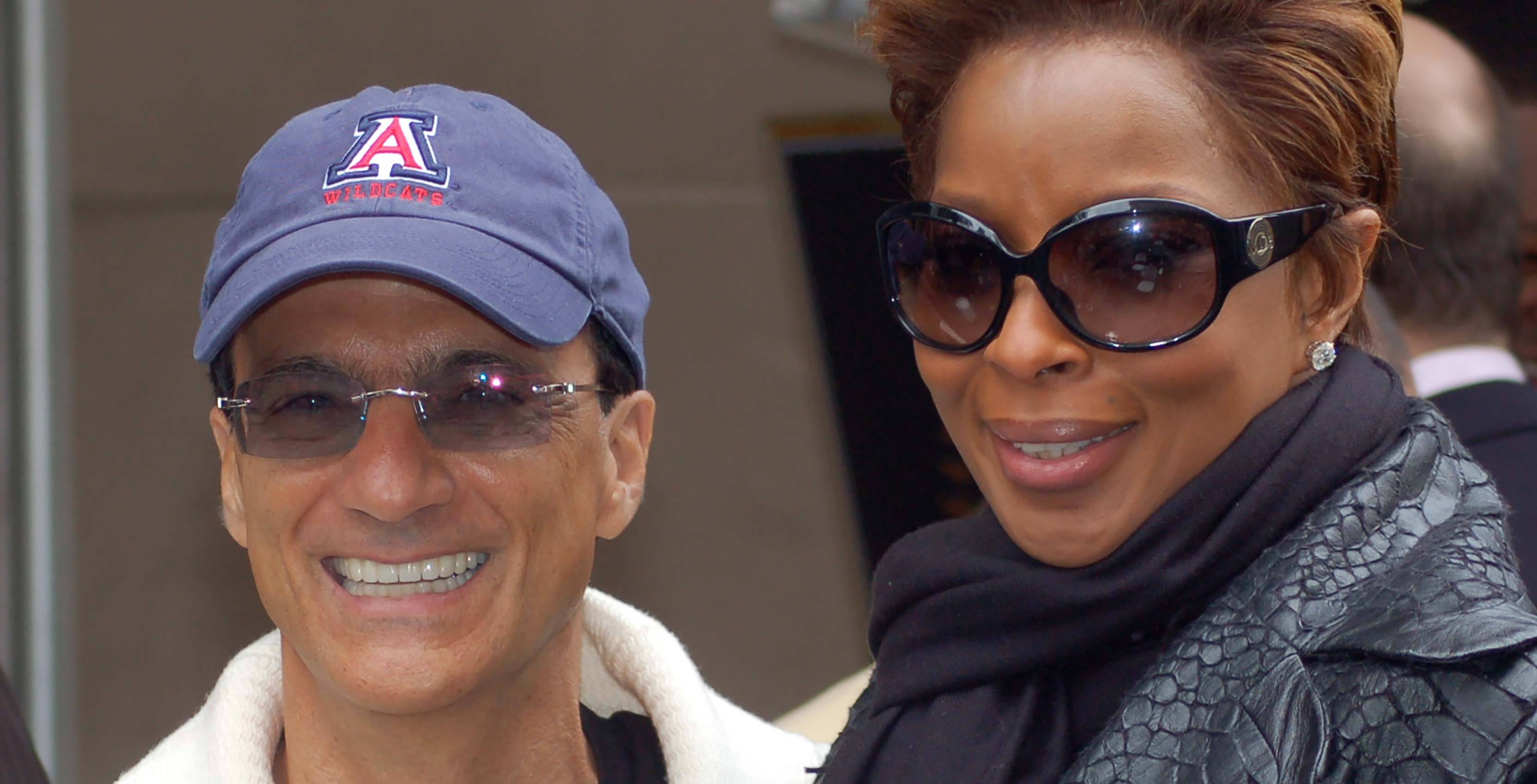 Jimmy Iovine with Mary J. Blige
