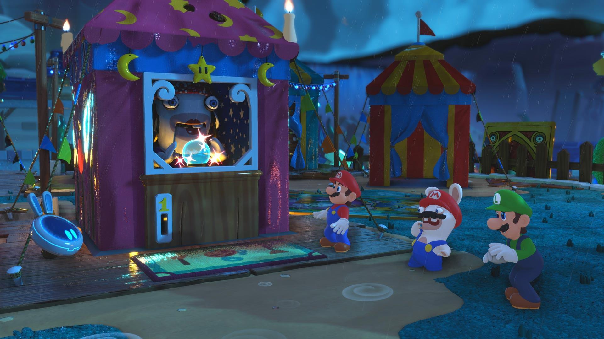 Mario + Rabbids Mario Luigi and Rabbid