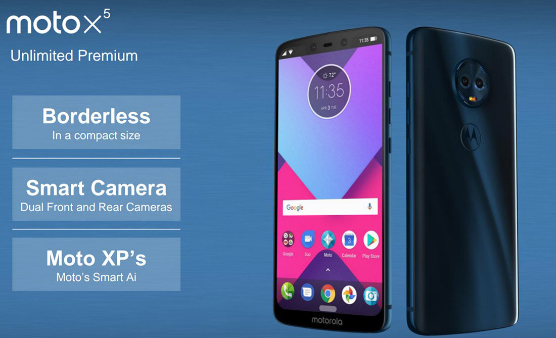 Moto X5 leaks