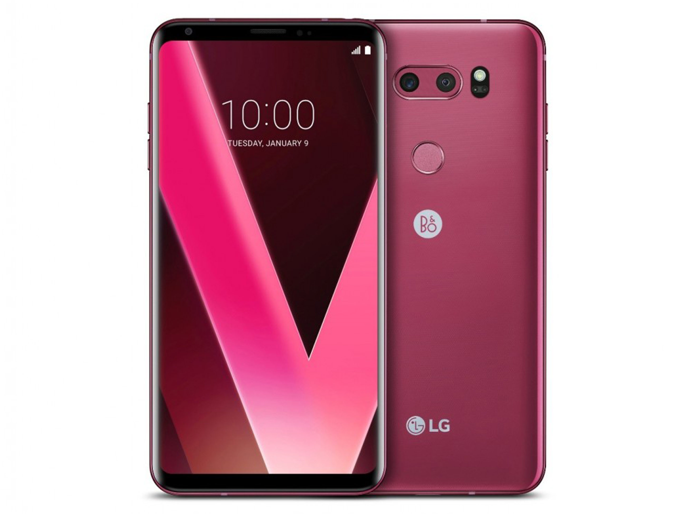Another view of the raspberry rose V30