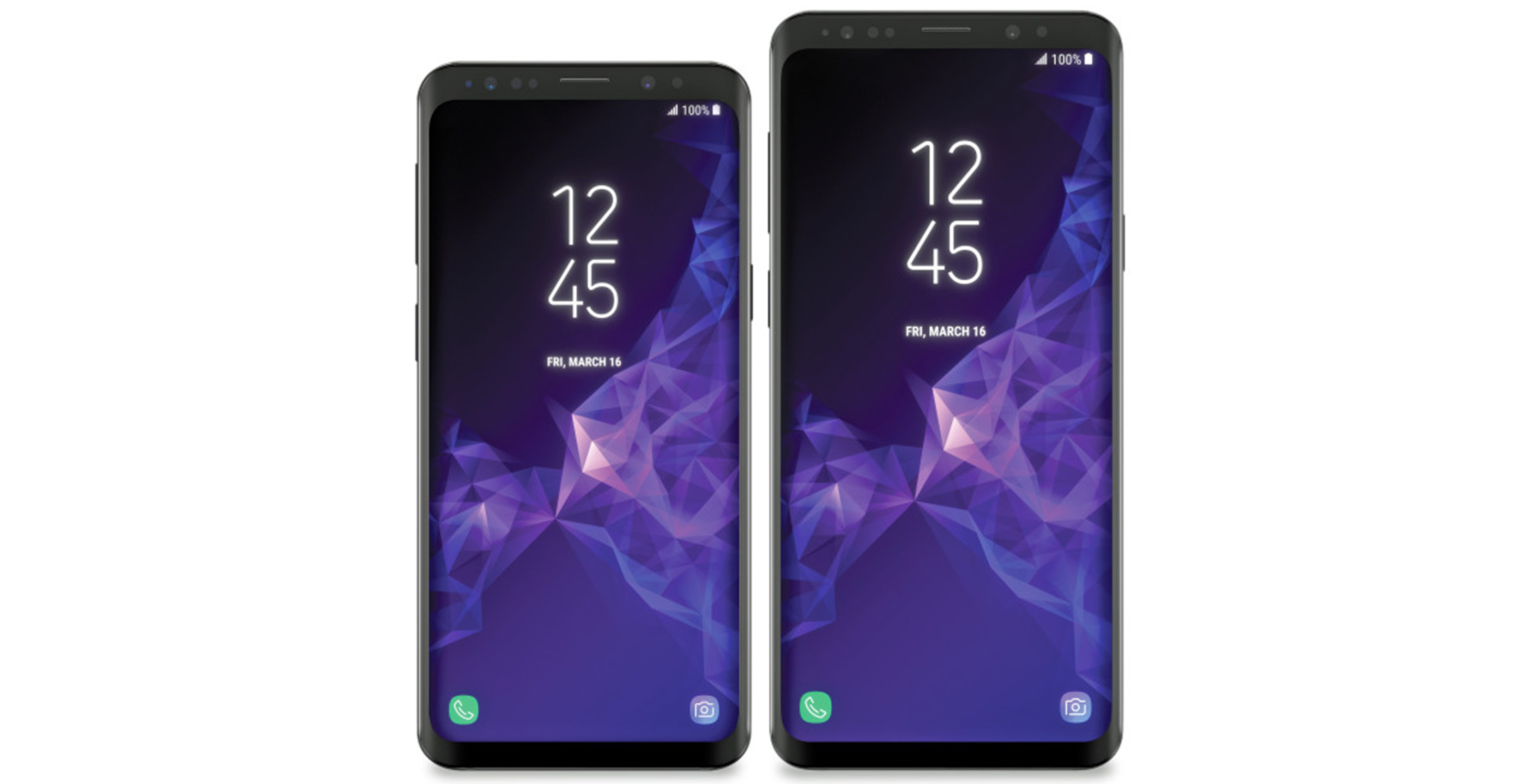 Samsung Galaxy S9 leaked render