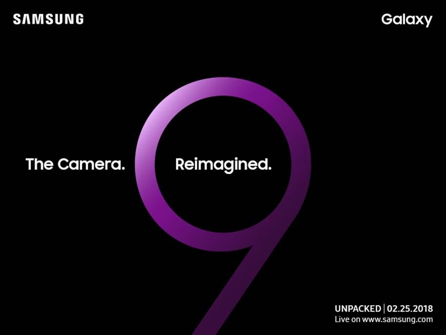 Unpacked S9 invite