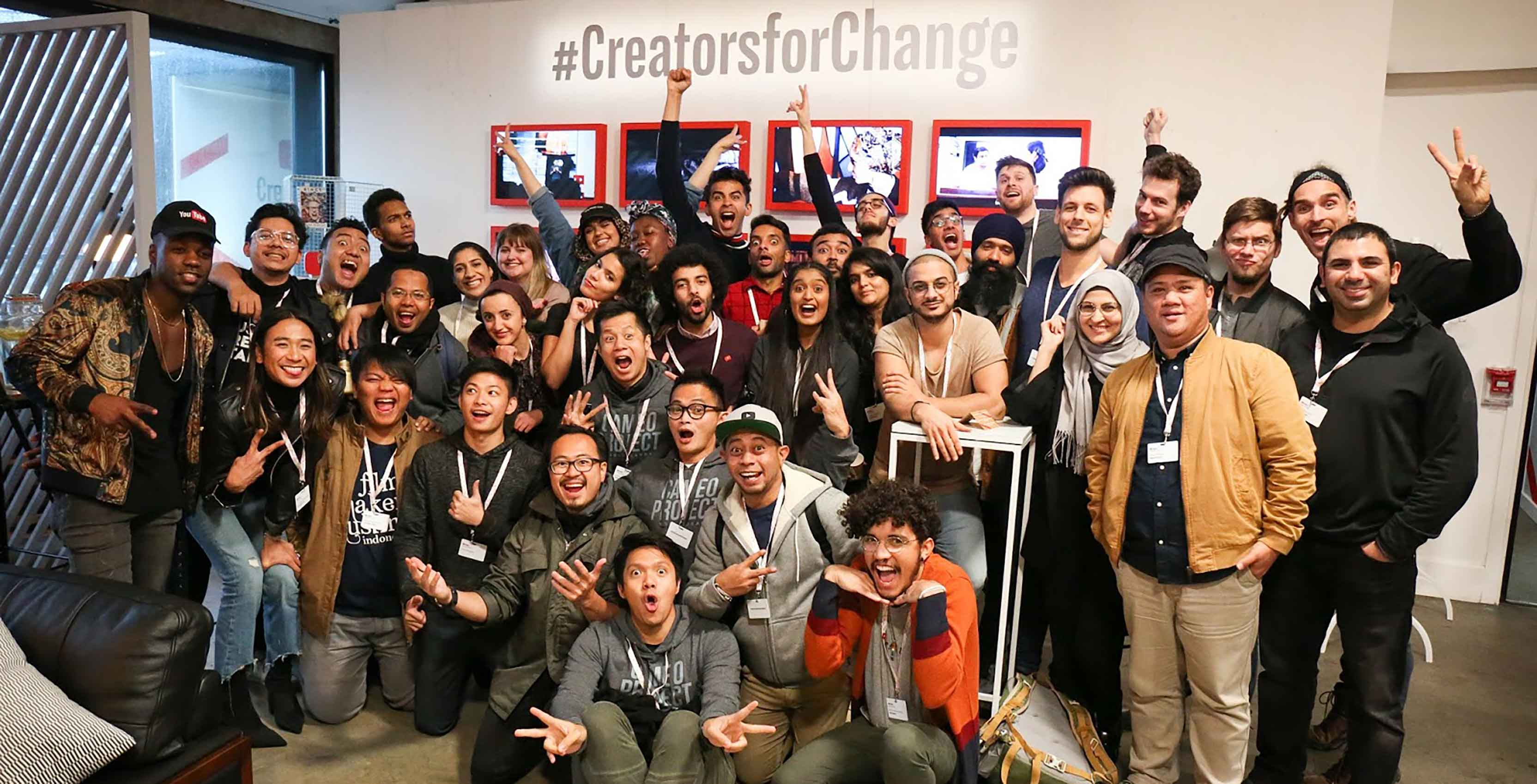 YouTube Creators for Change program