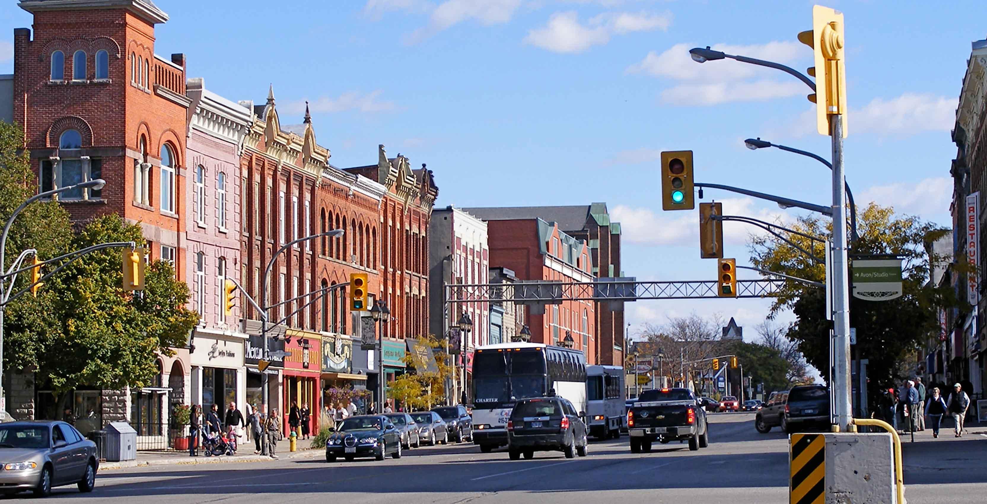 Stratford, Ontario street