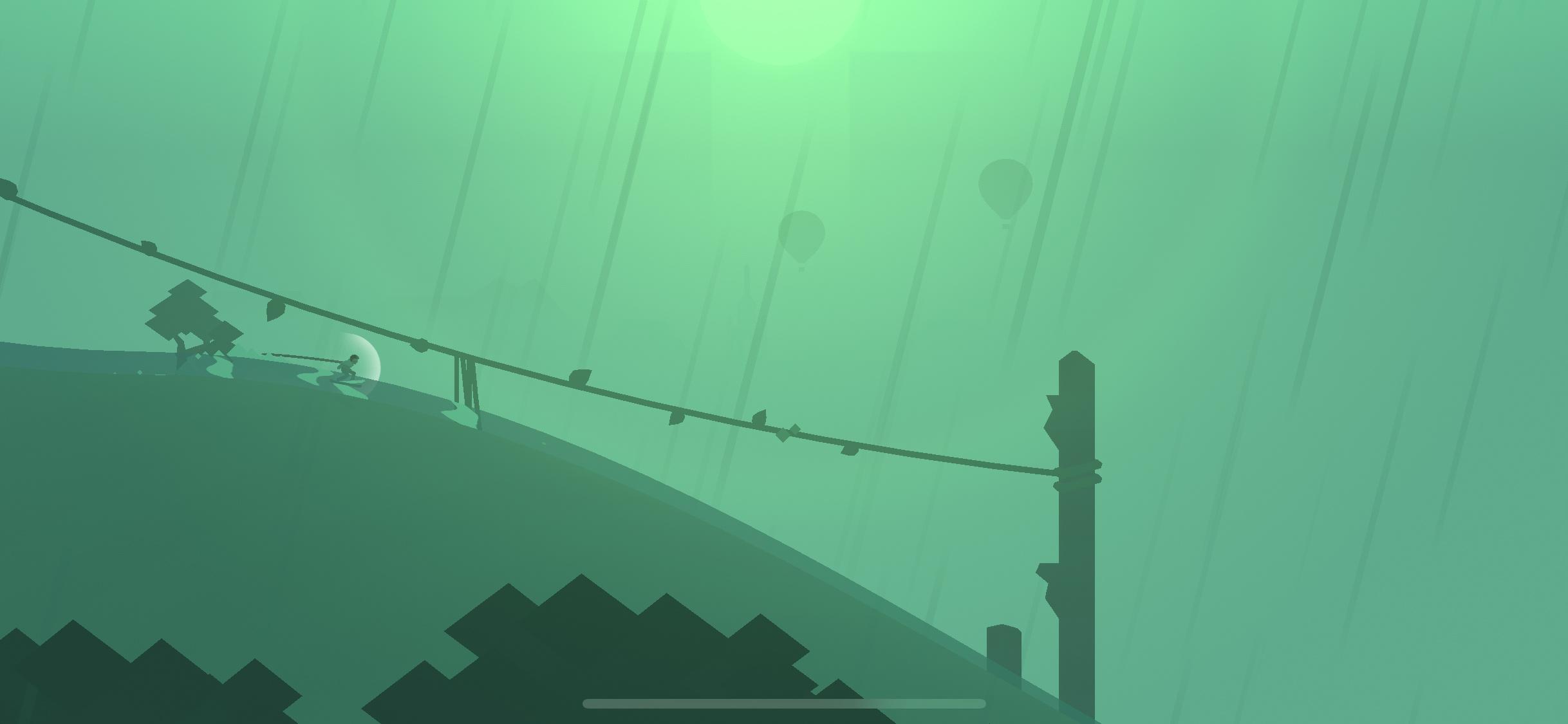 Alto's Odyssey rain screenshot