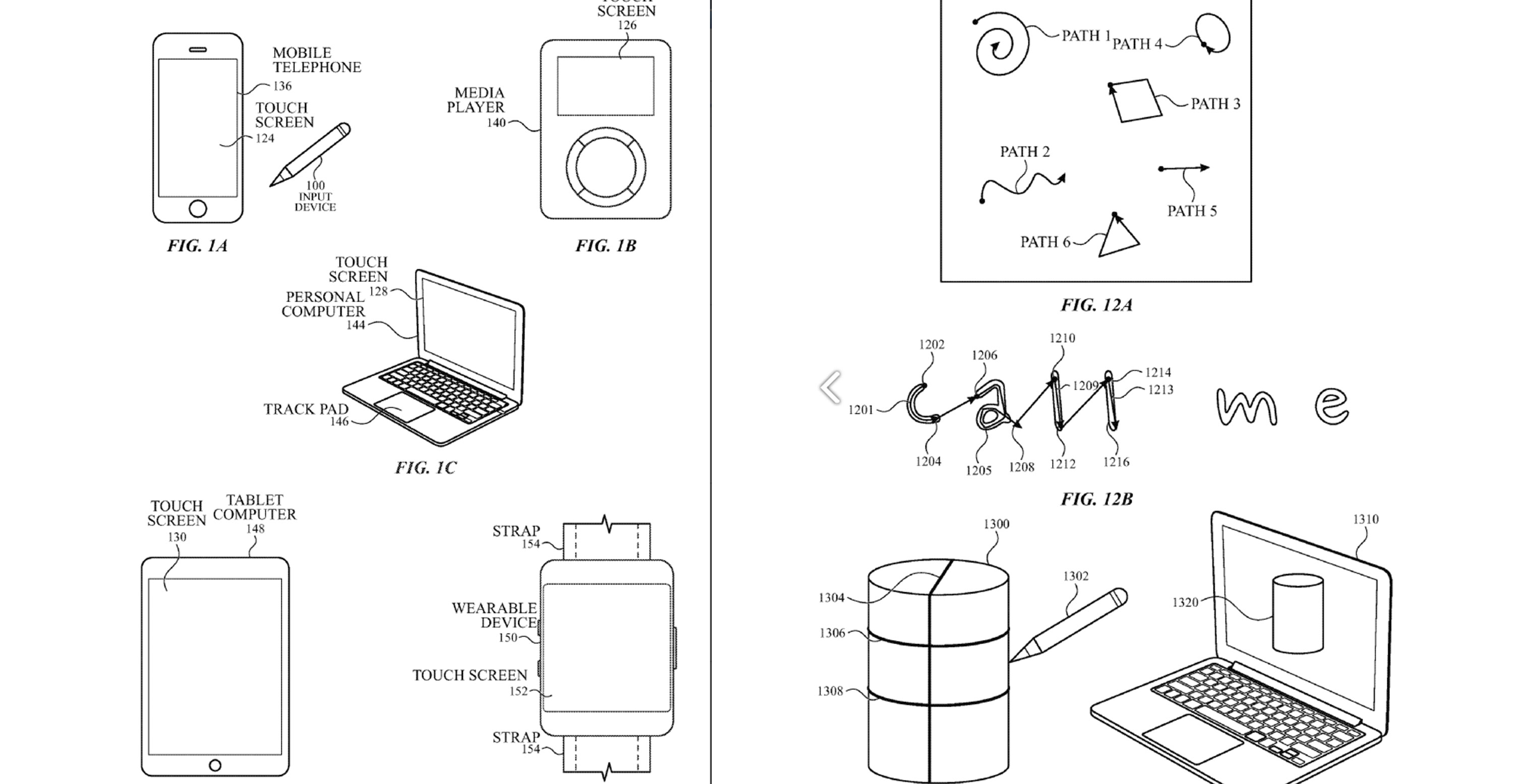 Apple patent about air stylus