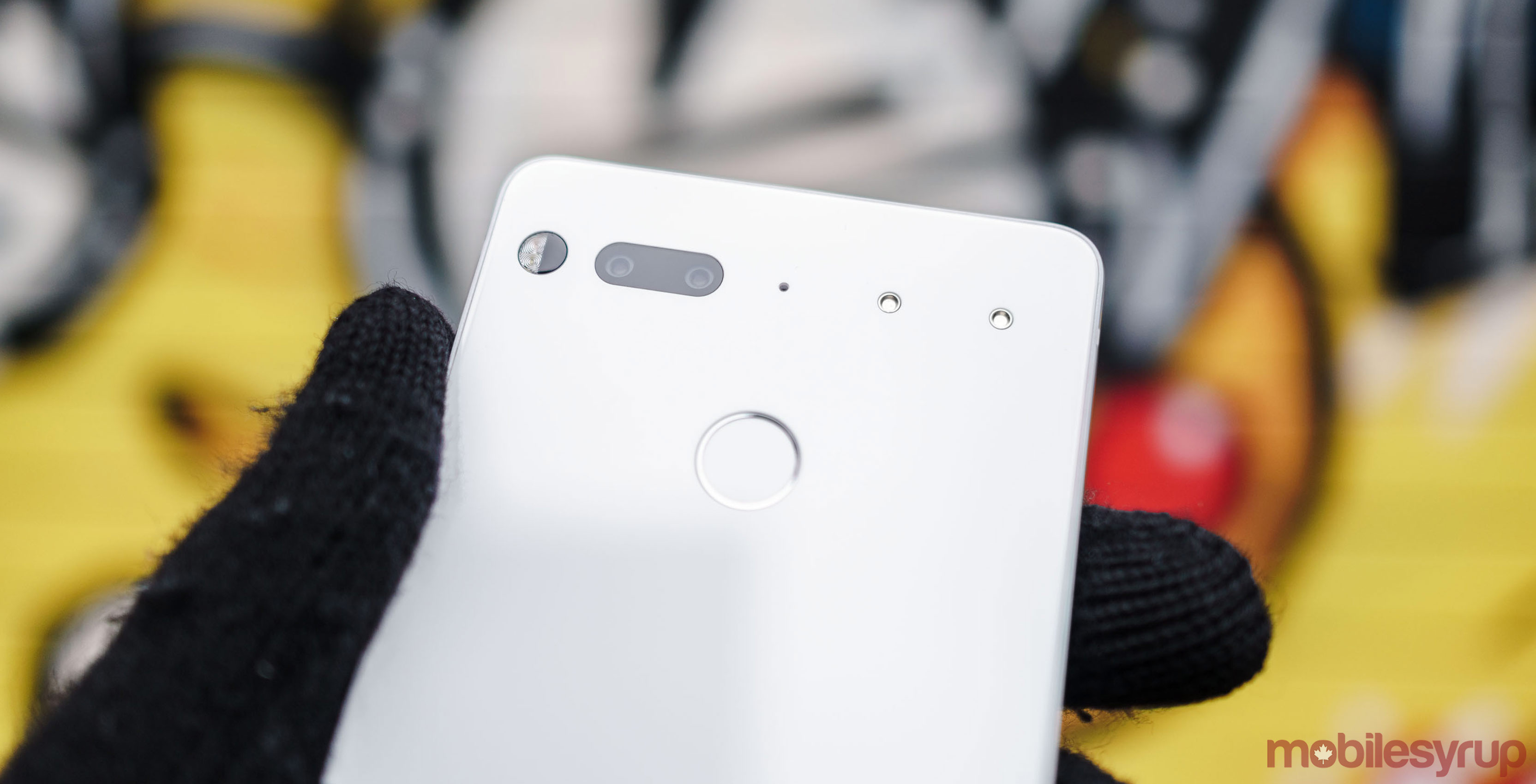 Essential Phone in 'Pure White'