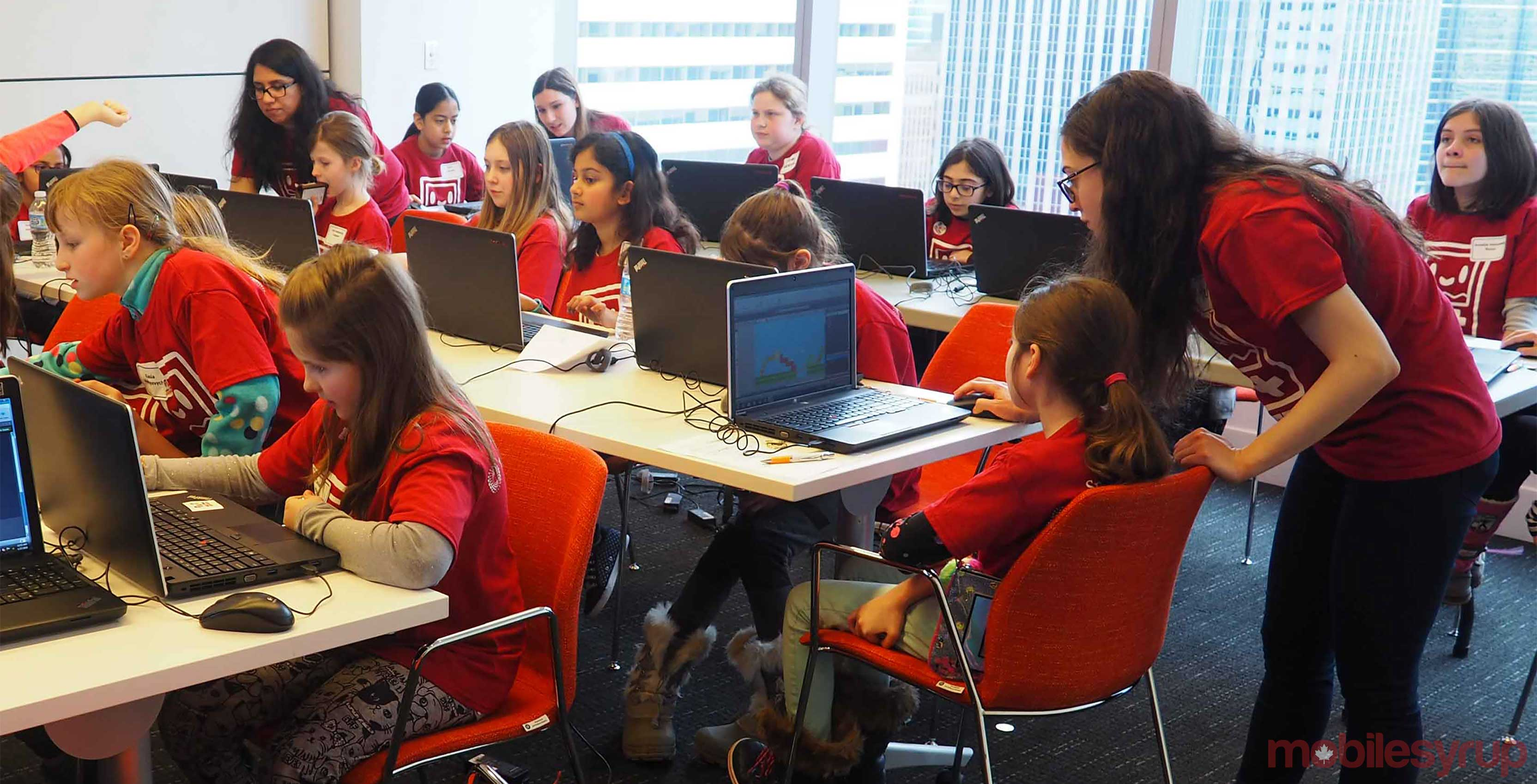 Girls Make Games Toronto