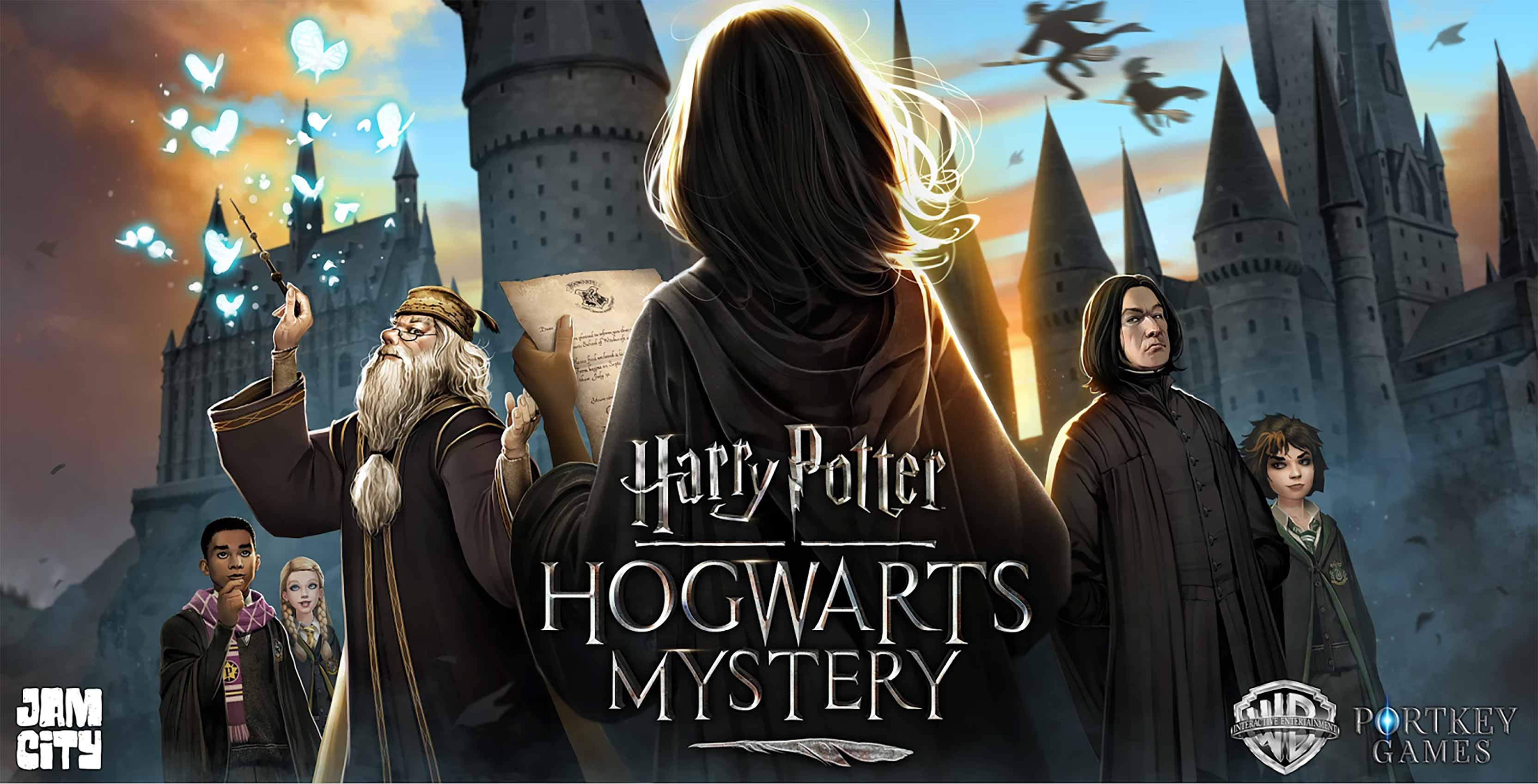 Harry Potter Hogwarts Mystery key art